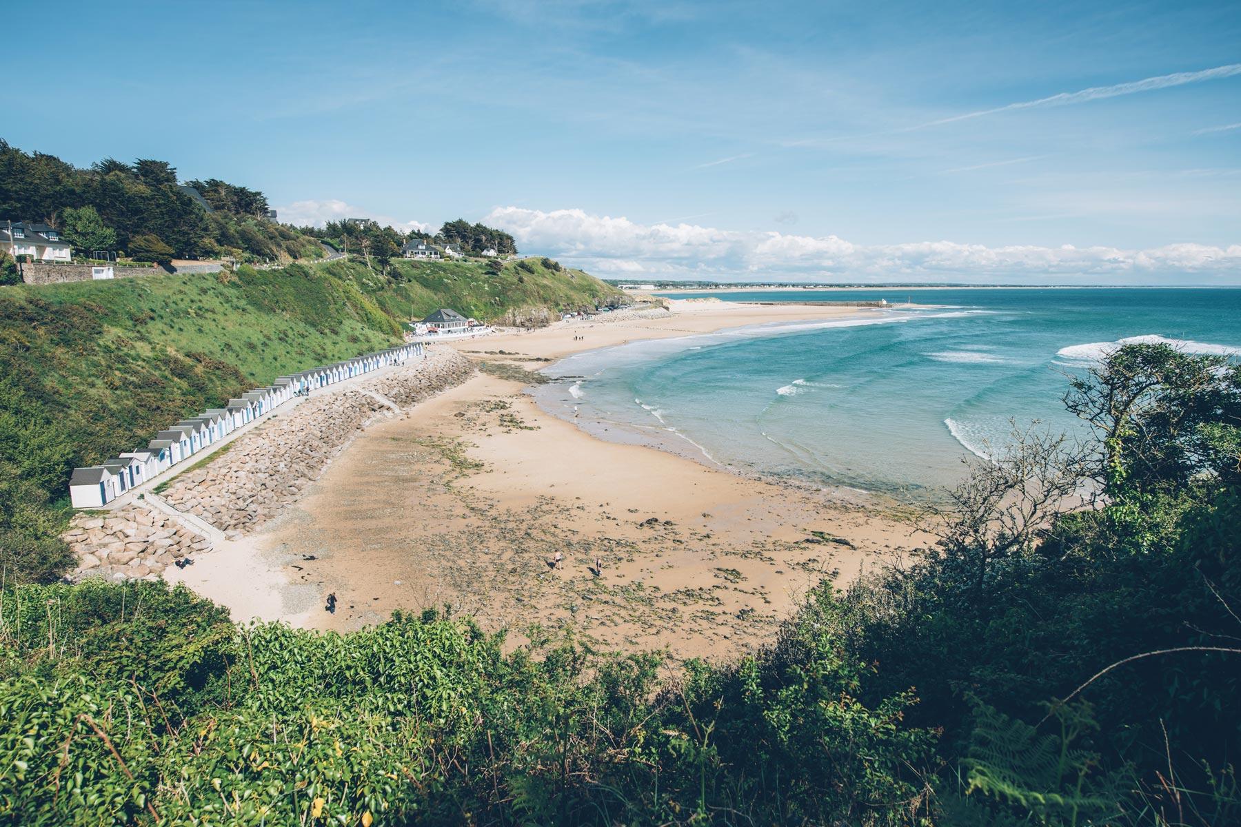 Plage de rêve en Normandie: Carteret
