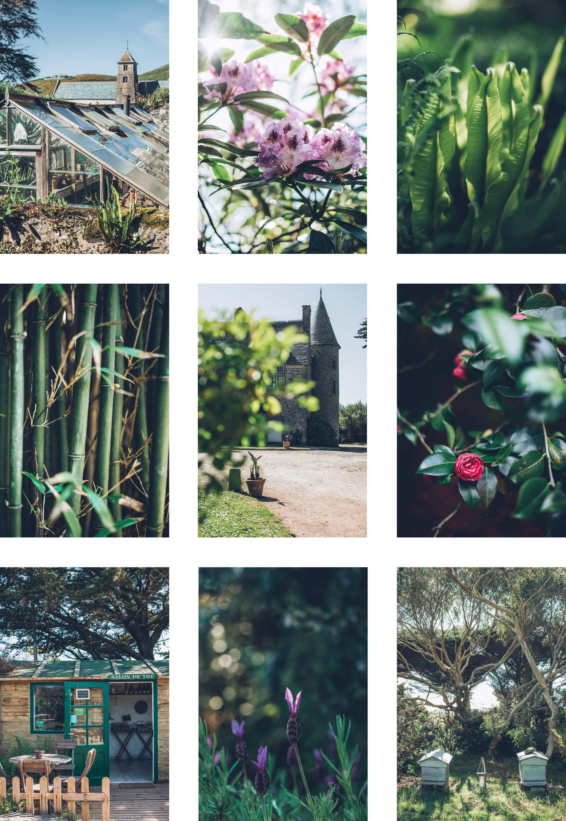 Jardin remarquable en Normandie: Vauville