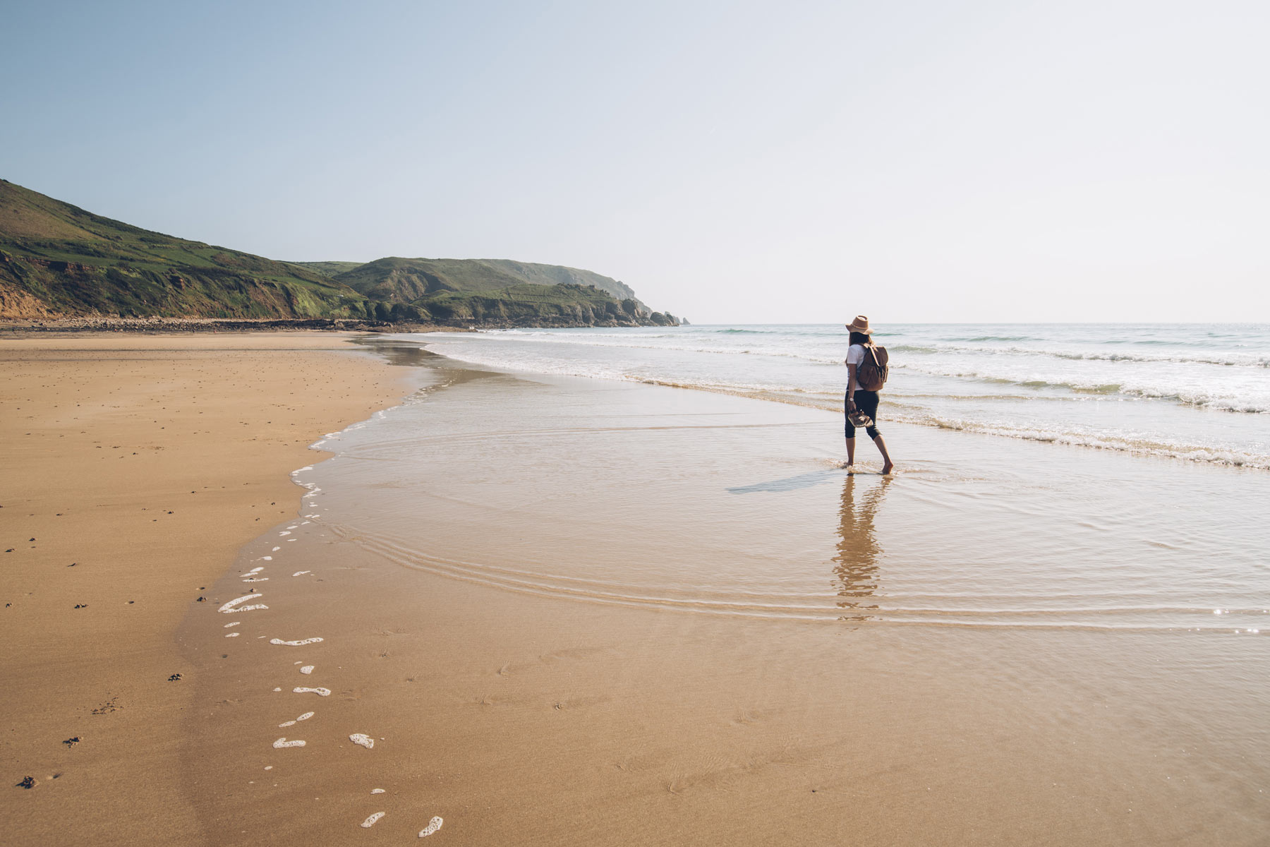 Plage d'ecalgrain, Cap Cotentin