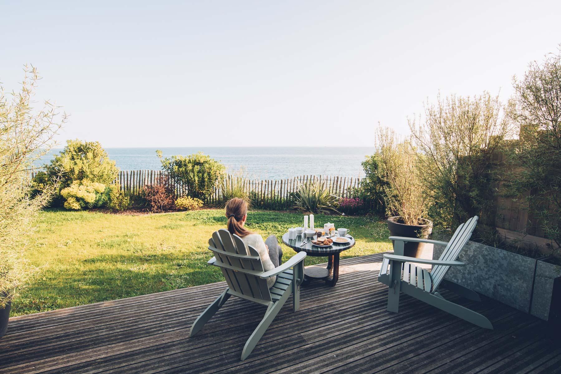 Hotel Vue mer en Normandie, Le Landemer