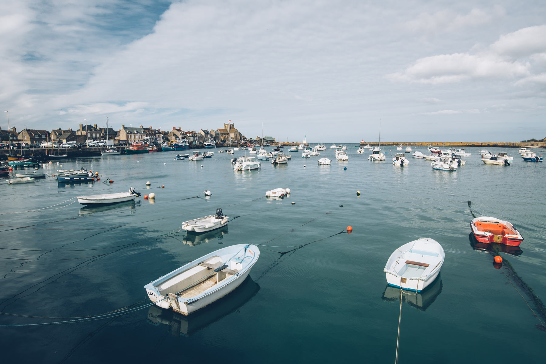 Plus beau village de France en Normandie: Barfleur