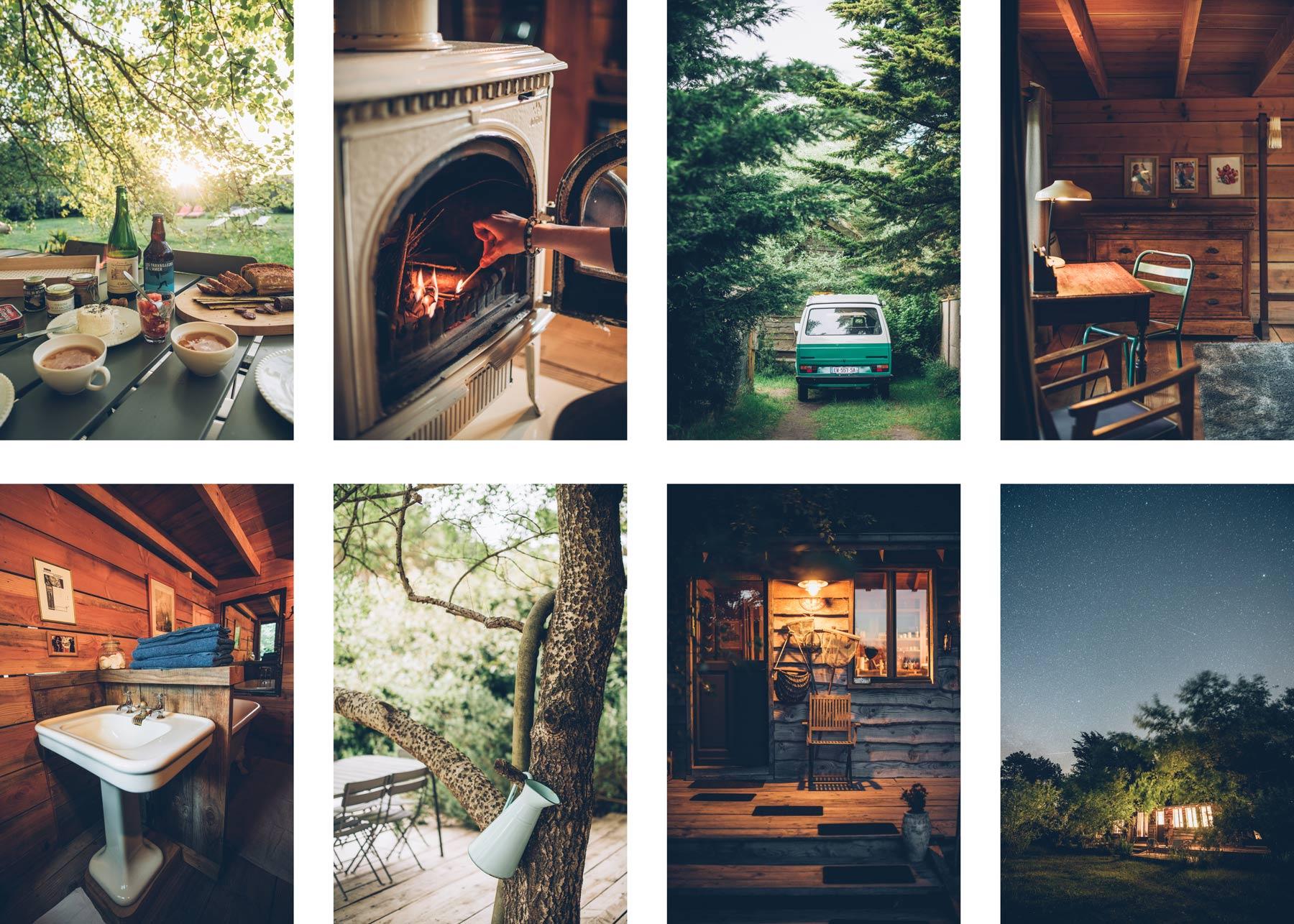Cabane Wooden, Normandie, La Manche