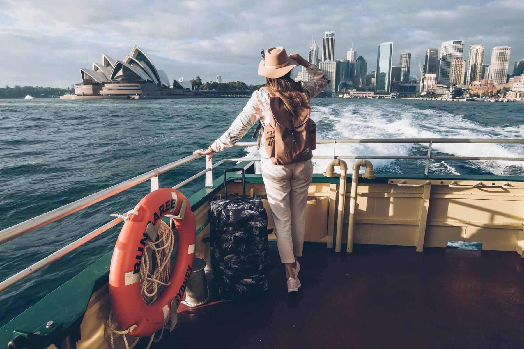 Prendre le Ferry à Sydney