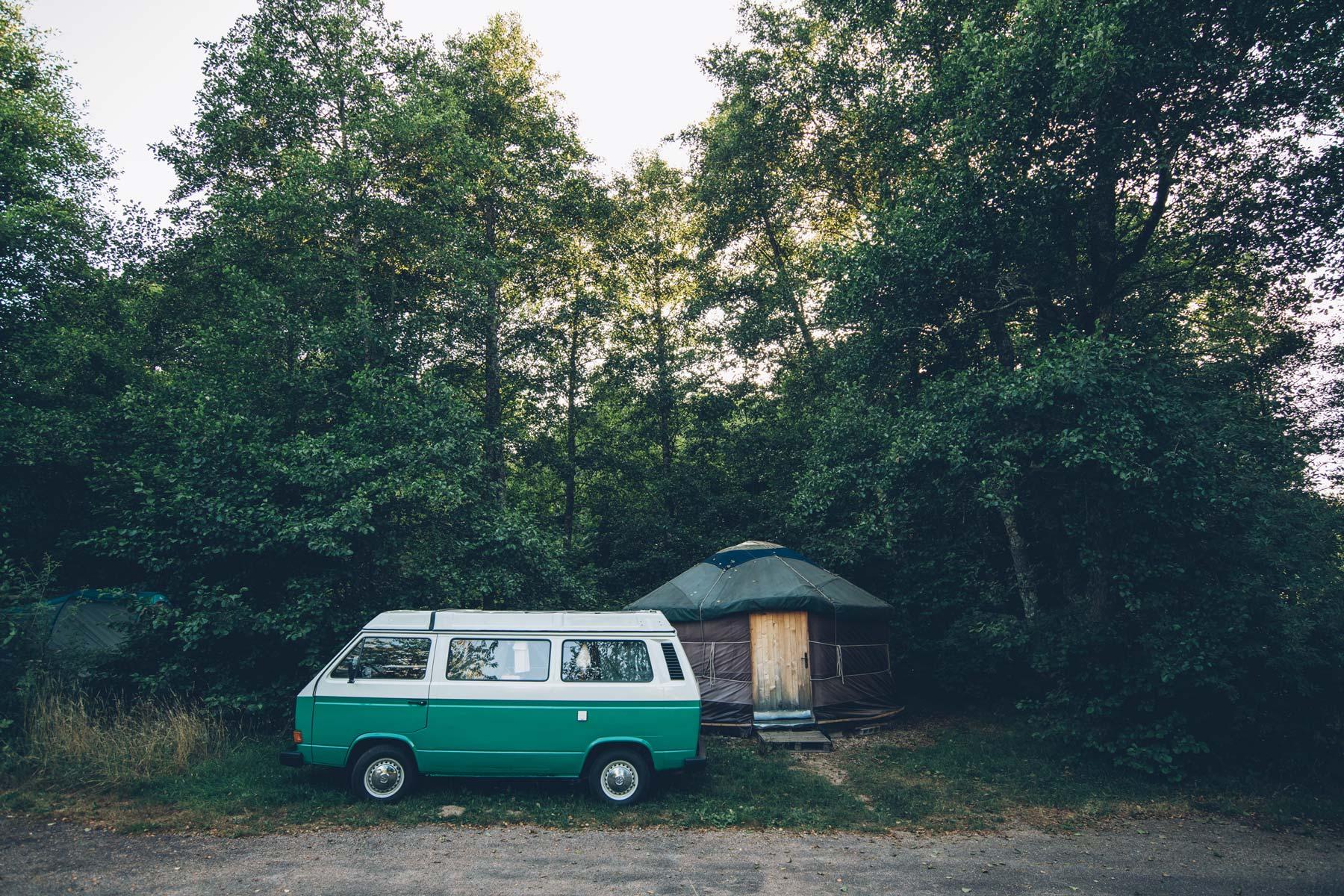 Markus Combi VW, Camping des Soulins