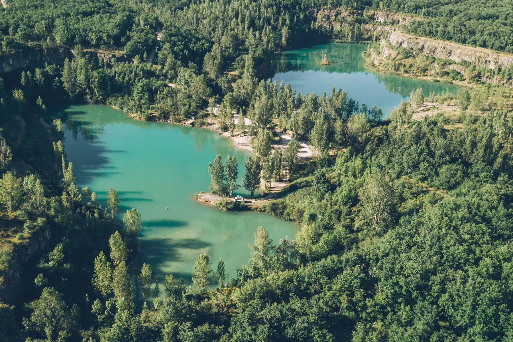 Le Lac Vert, Tarn et Garonne
