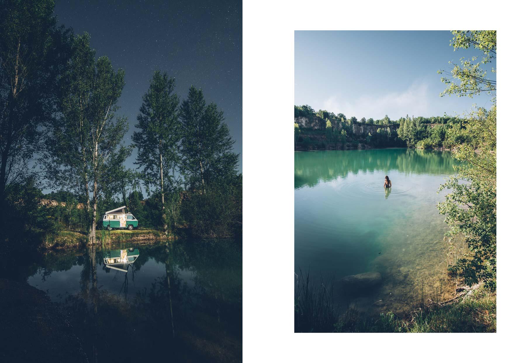Lac Vert, Montpezat du Quercy