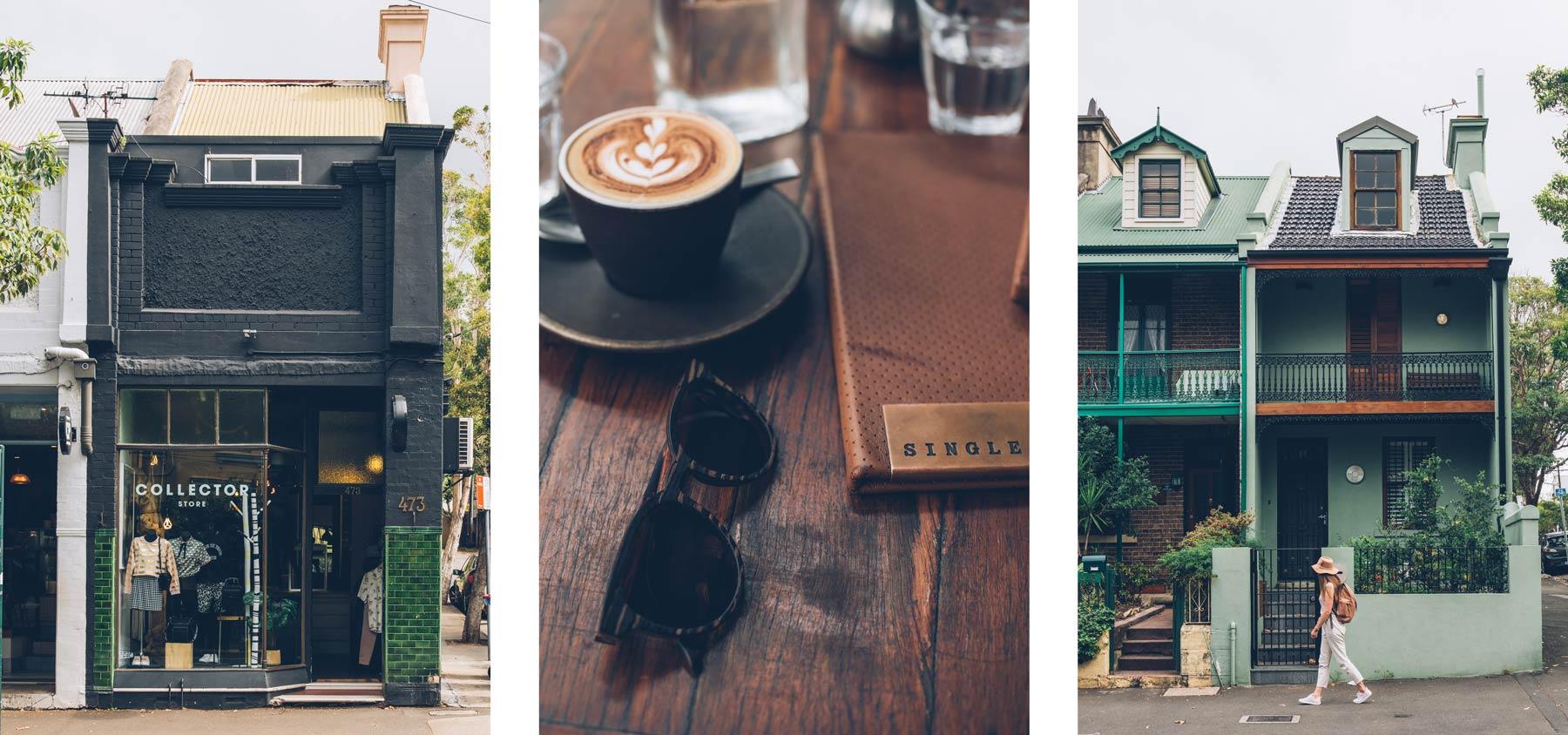Sydney quartier hipster
