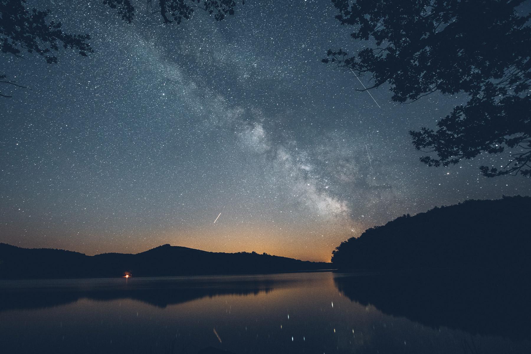 Nuit étoilée dans le Morvan