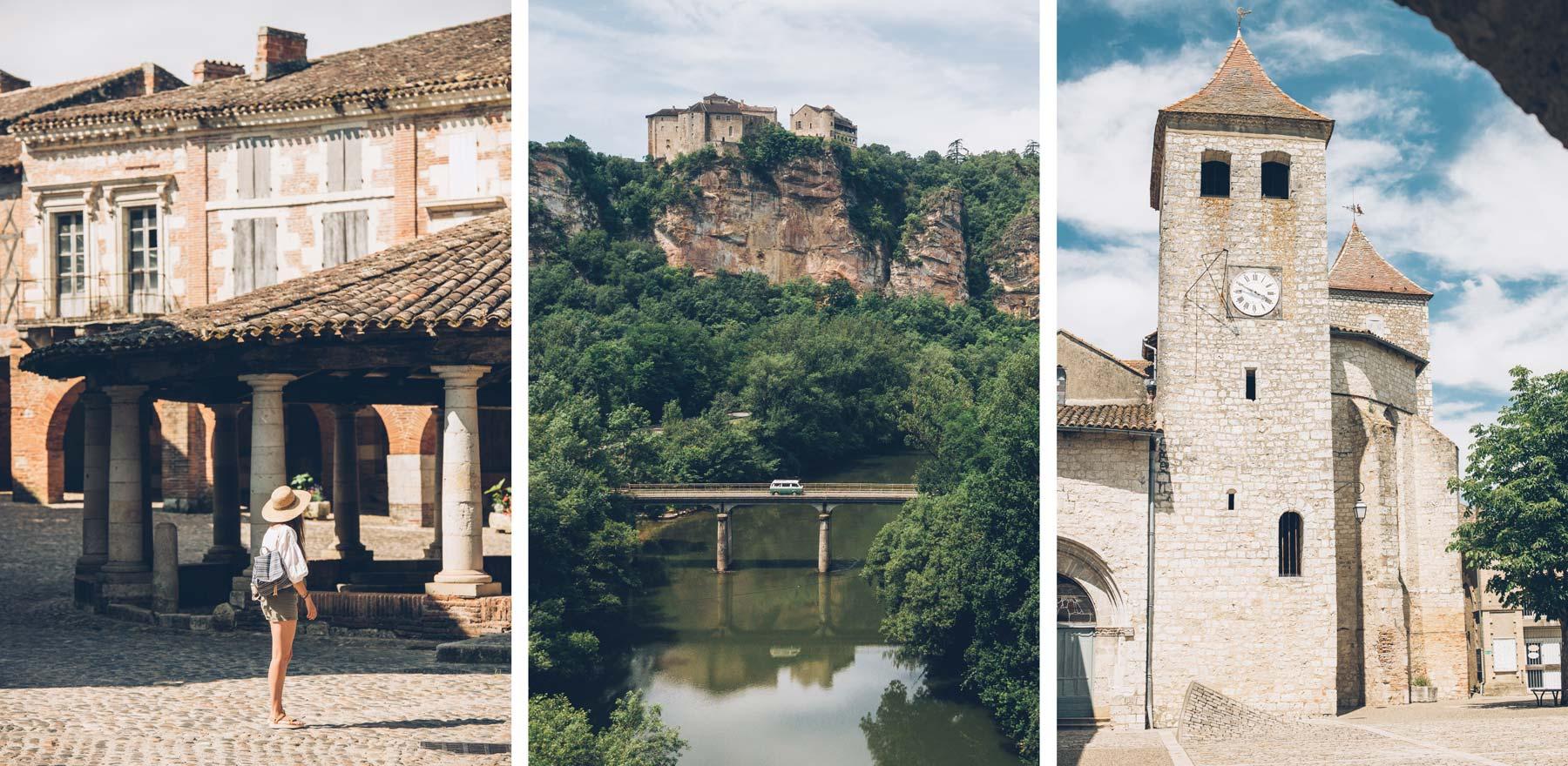 Les plus beaux villages de FRANCE, Tarn et Garonne