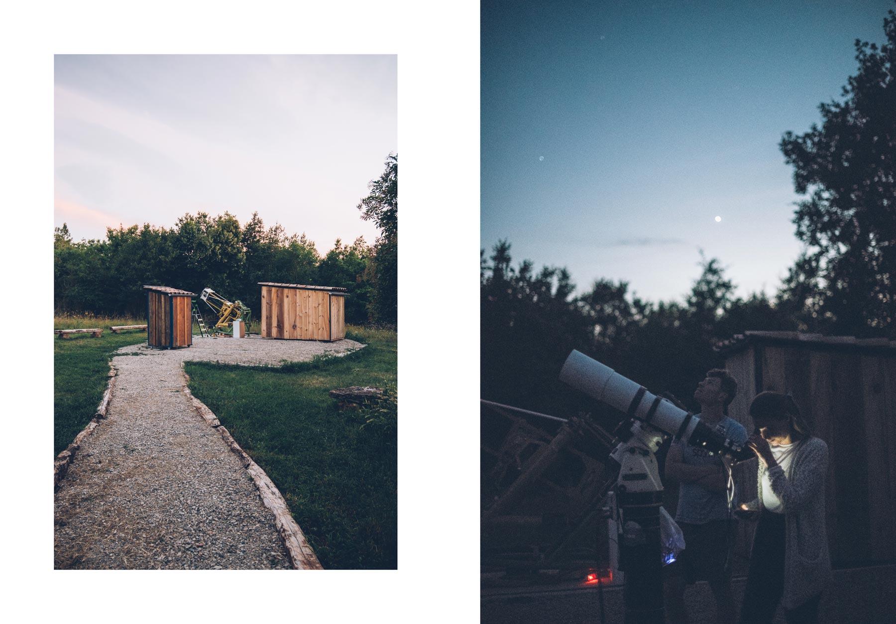 Nuit sous les étoiles à St Antonin Noble Val