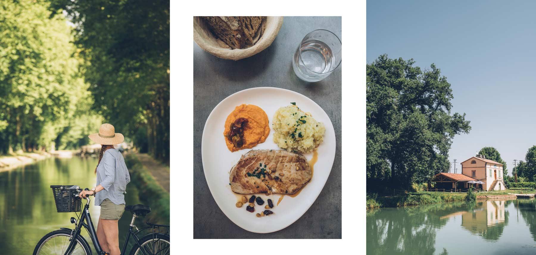 Montech - Montauban, pause déjeuner chez Gabriel