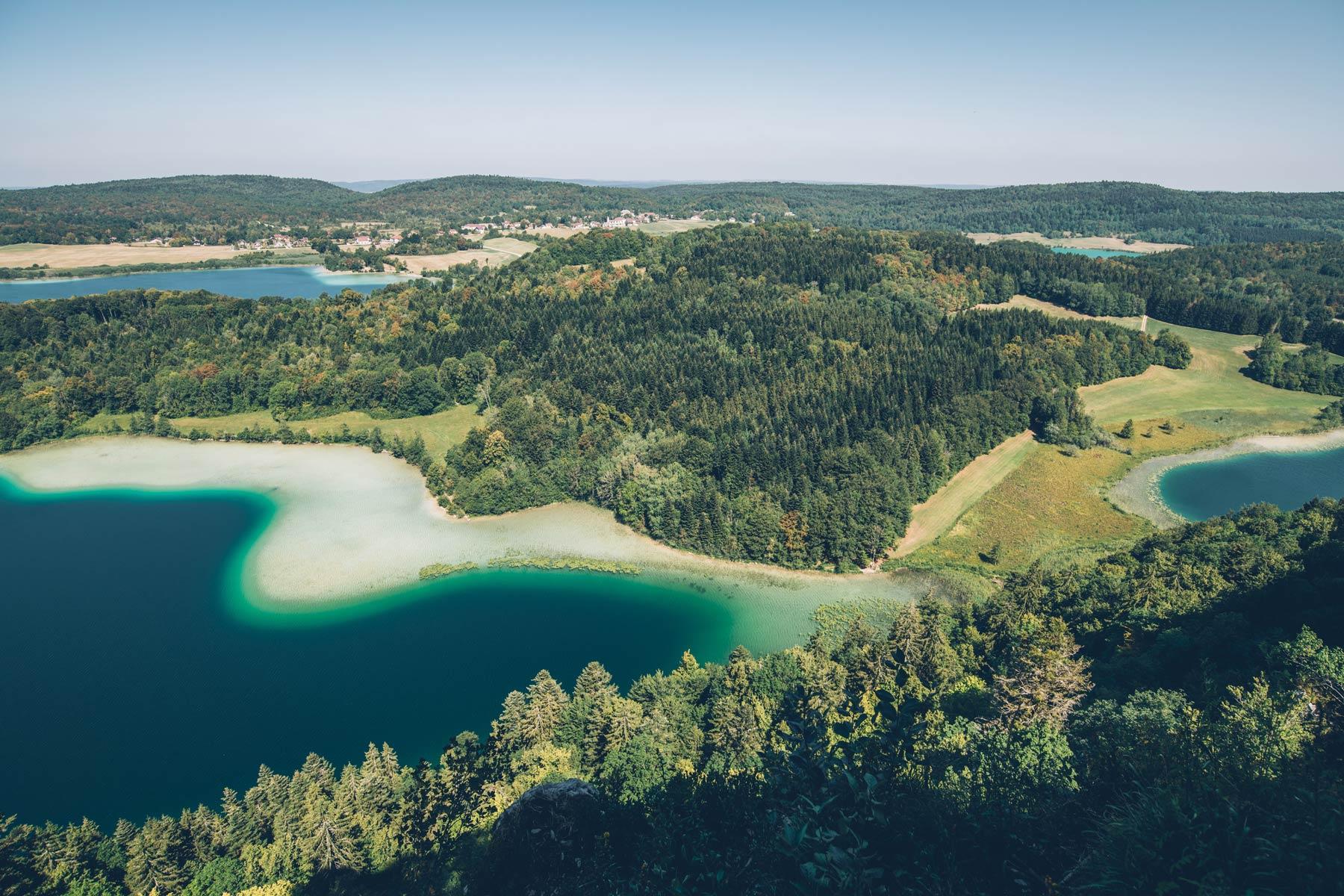 Montagnes du Jura, Belvédère des 4 lacs