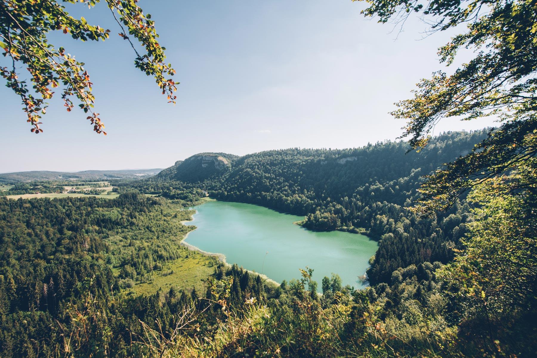 Lac de Bonlieu, Jura