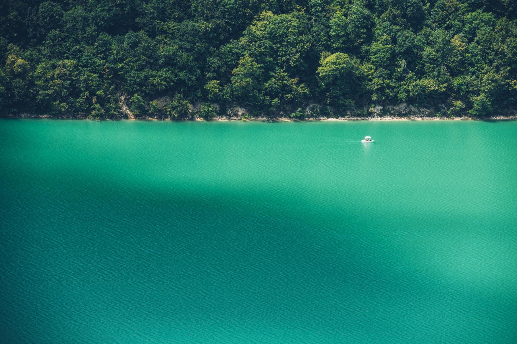 Lac de Vouglans, Jura