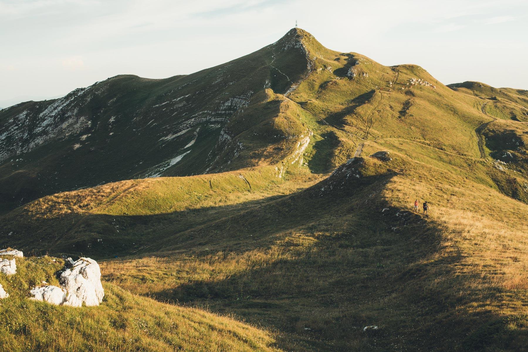 Le Reculet, 1719m, Montagnes du Jura