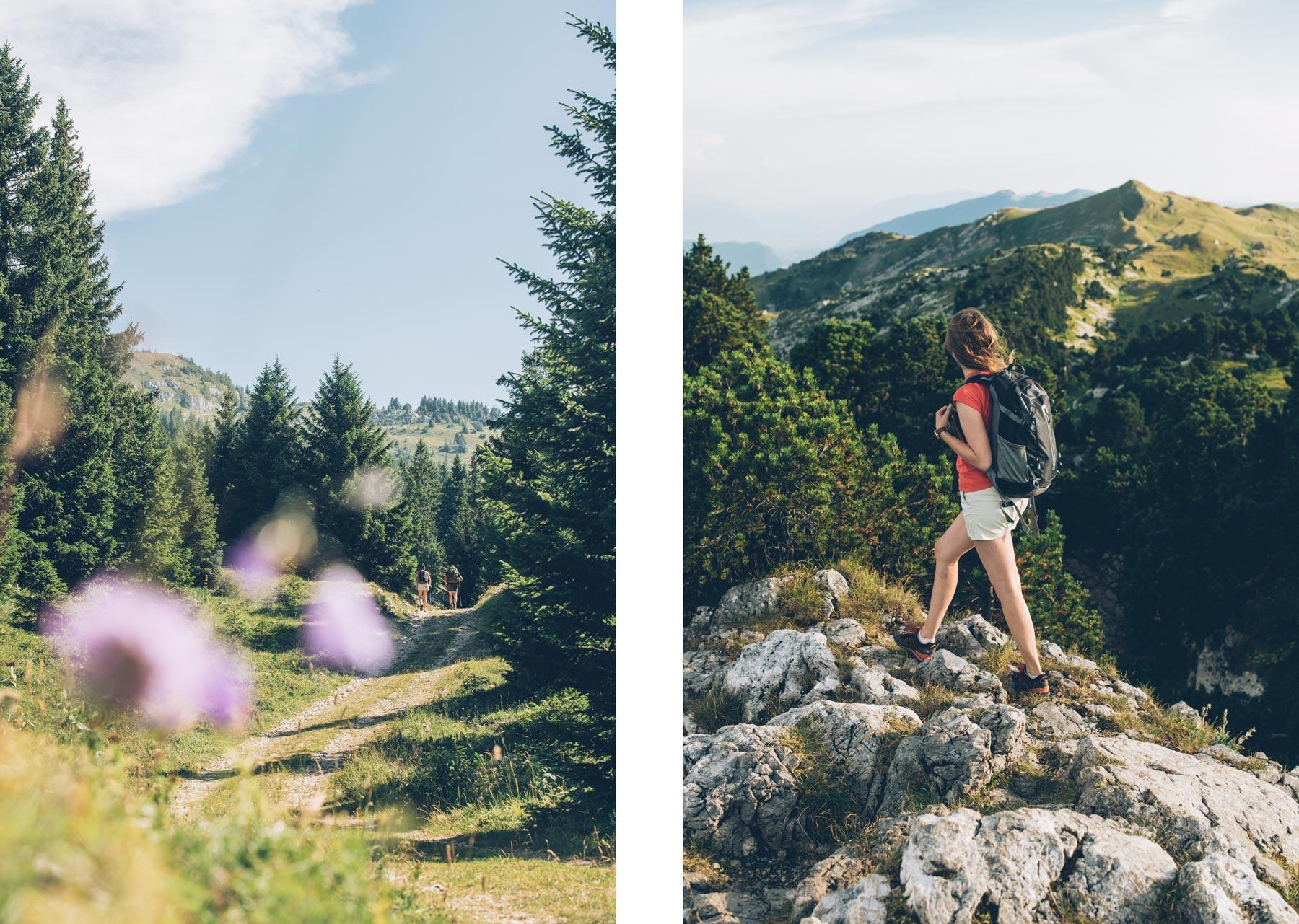 Randonnée, Crêt de la Neige, Ain, Montagnes du Jura