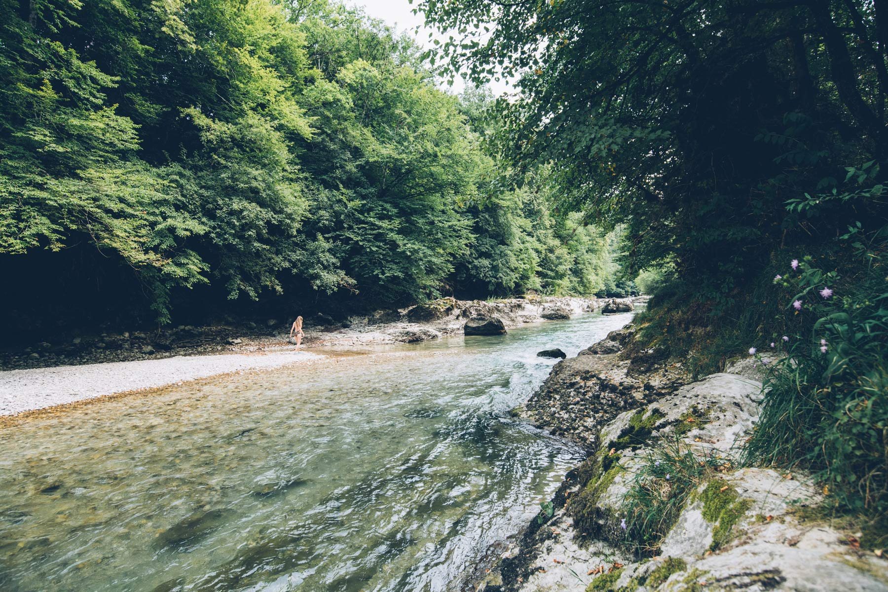 La Valserine, Montagnes du Jura