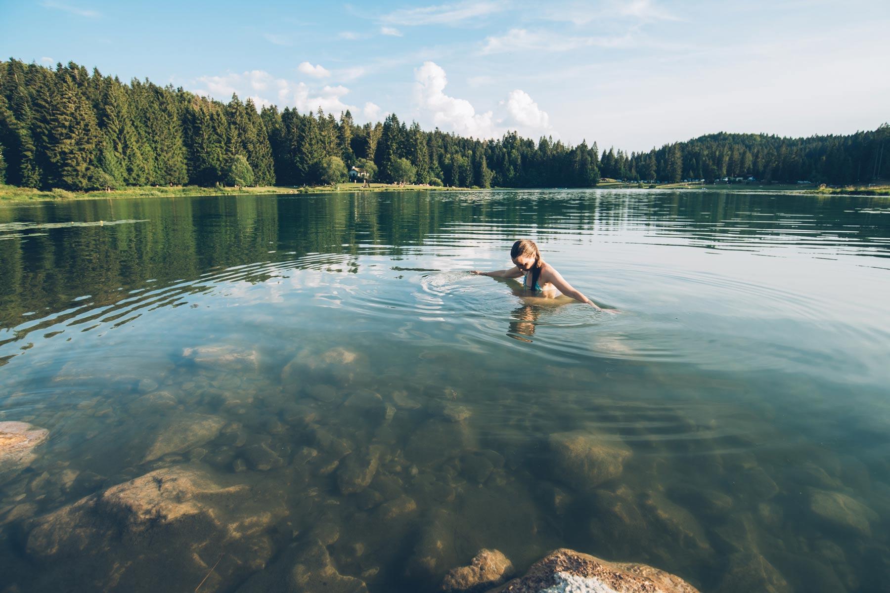 Le Lac Genain, Montagnes du Jura