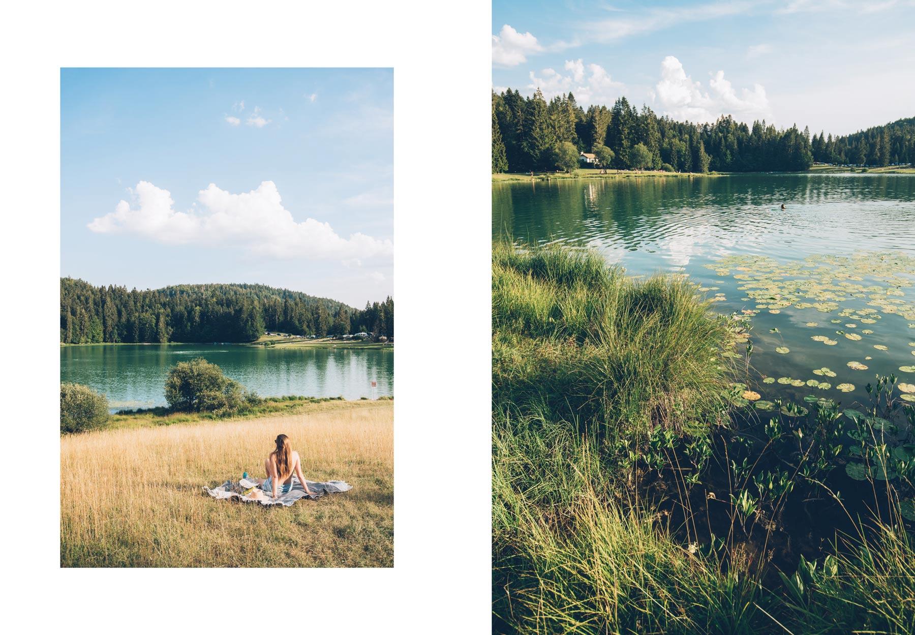 Lac Genain, Ain, Montagnes du Jura