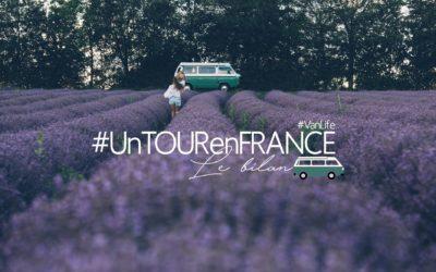 #UNTOURENFRANCE | BILAN DE 3 MOIS EN VAN SUR LES ROUTES DE FRANCE