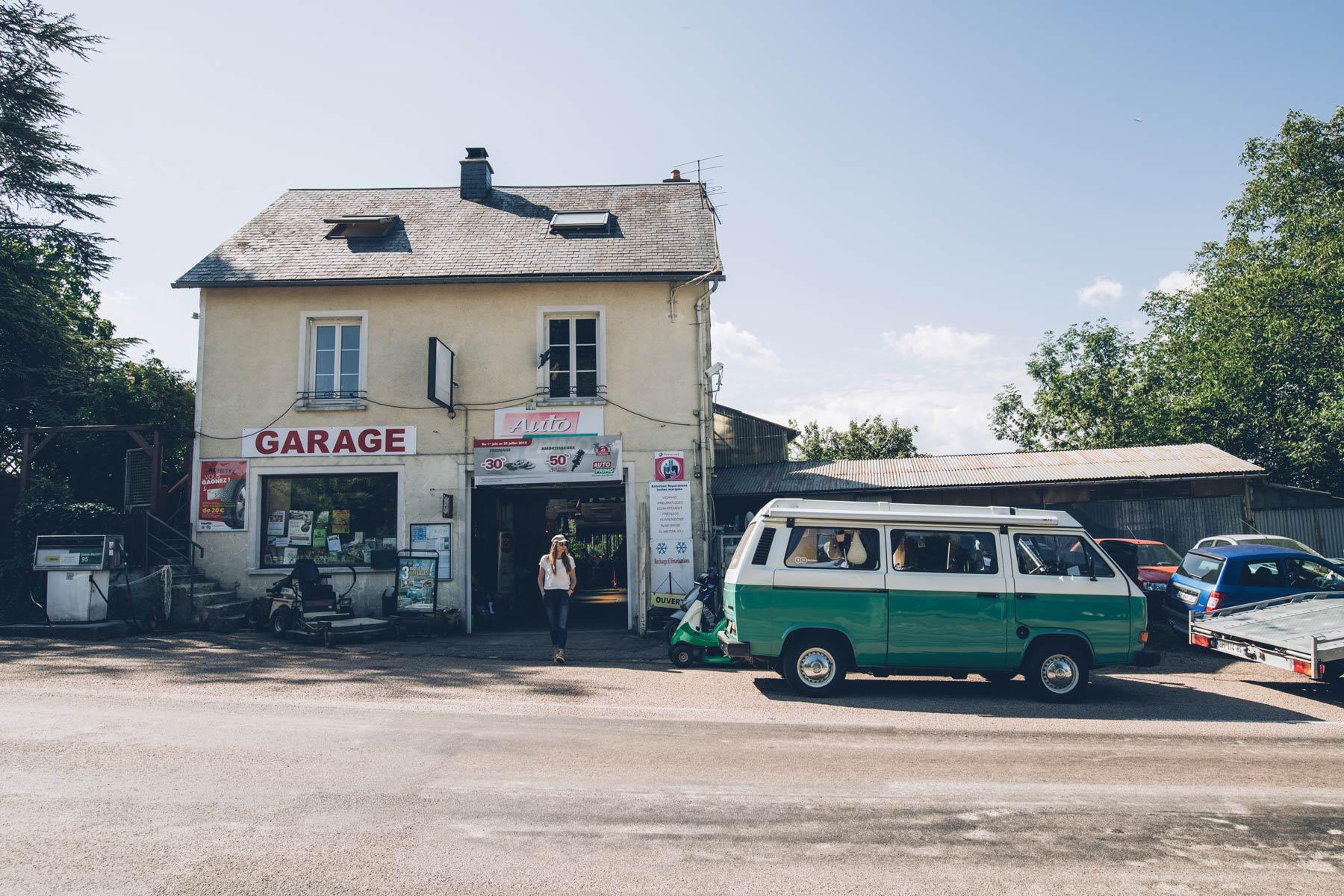 Markus au Garage