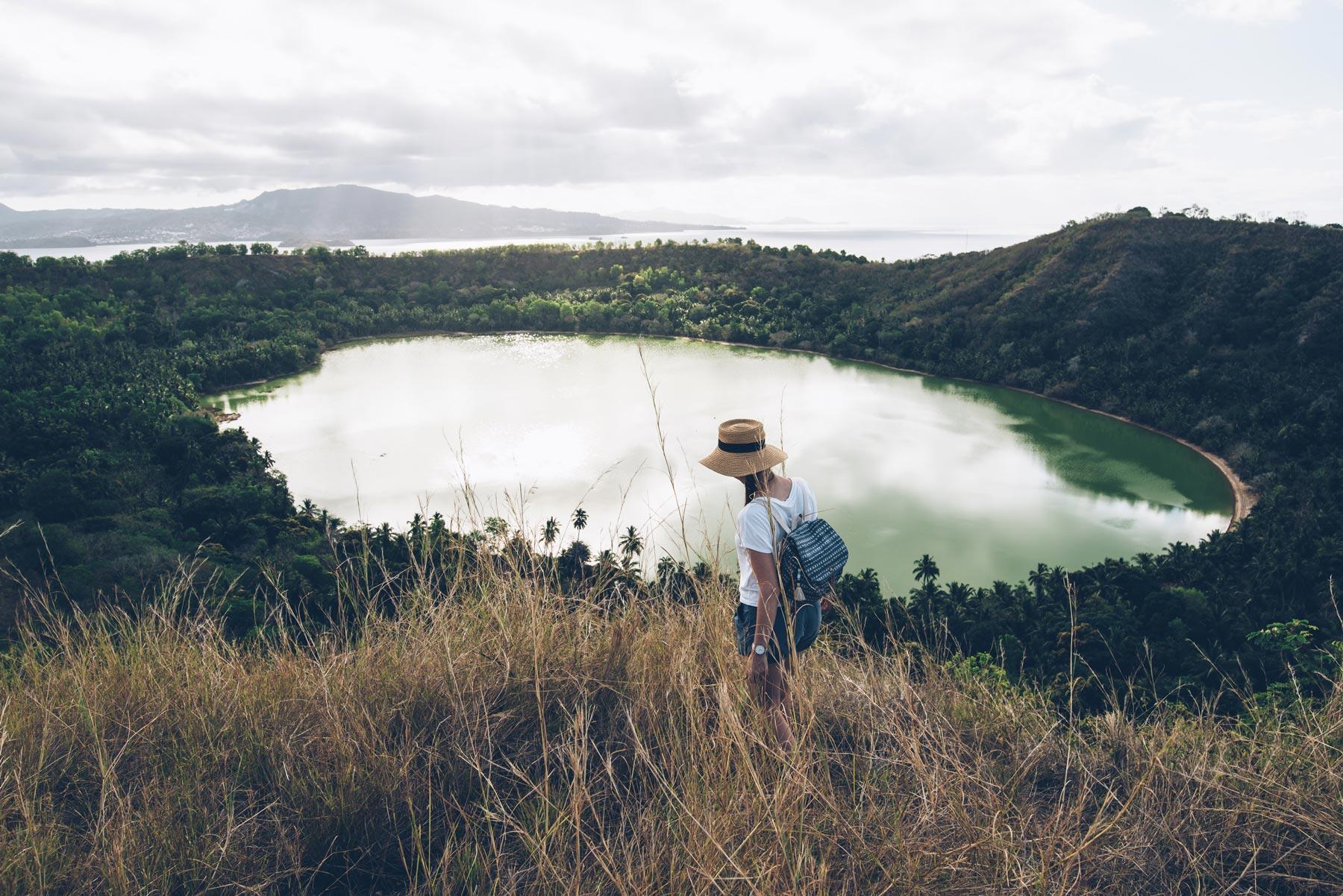 Lac vert Dziani, Mayotte