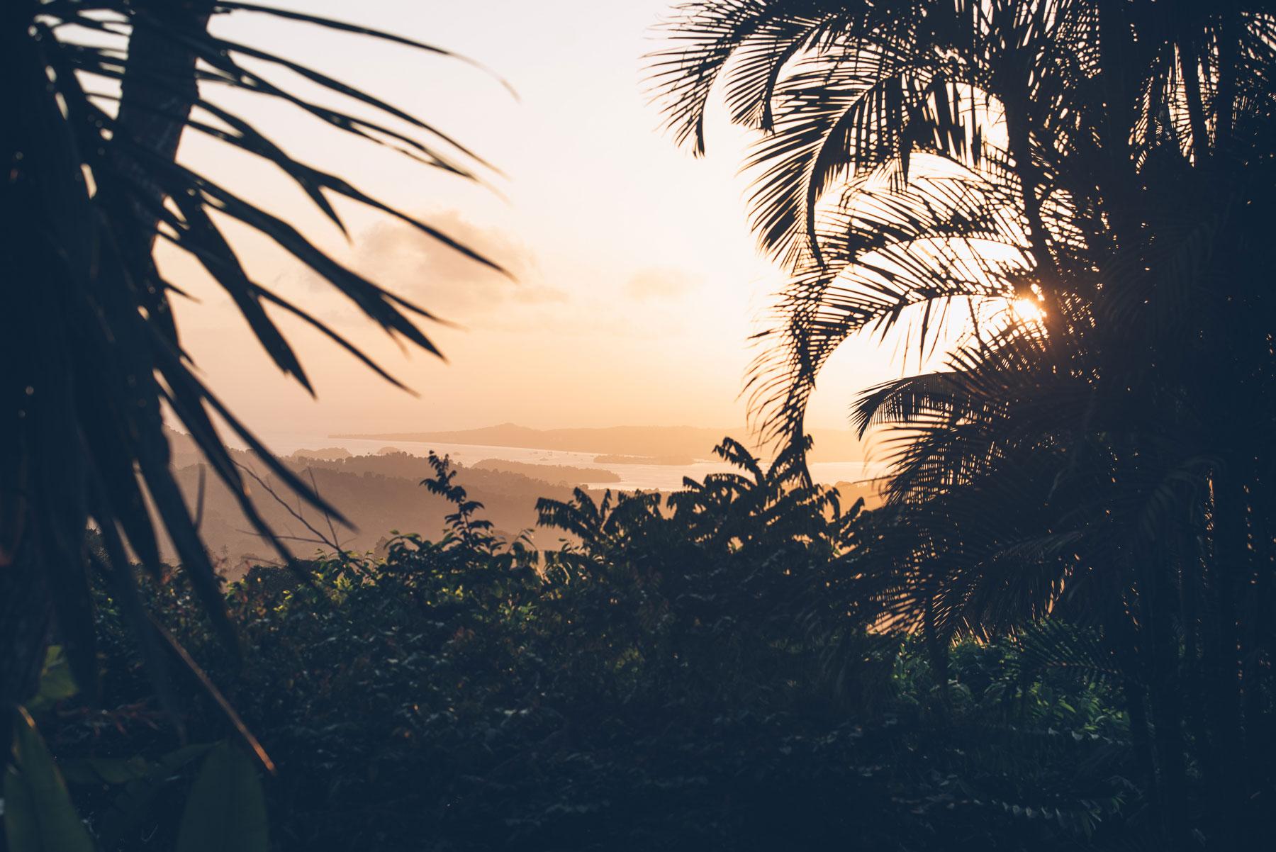 Vue depuis le gite du Mont Combani