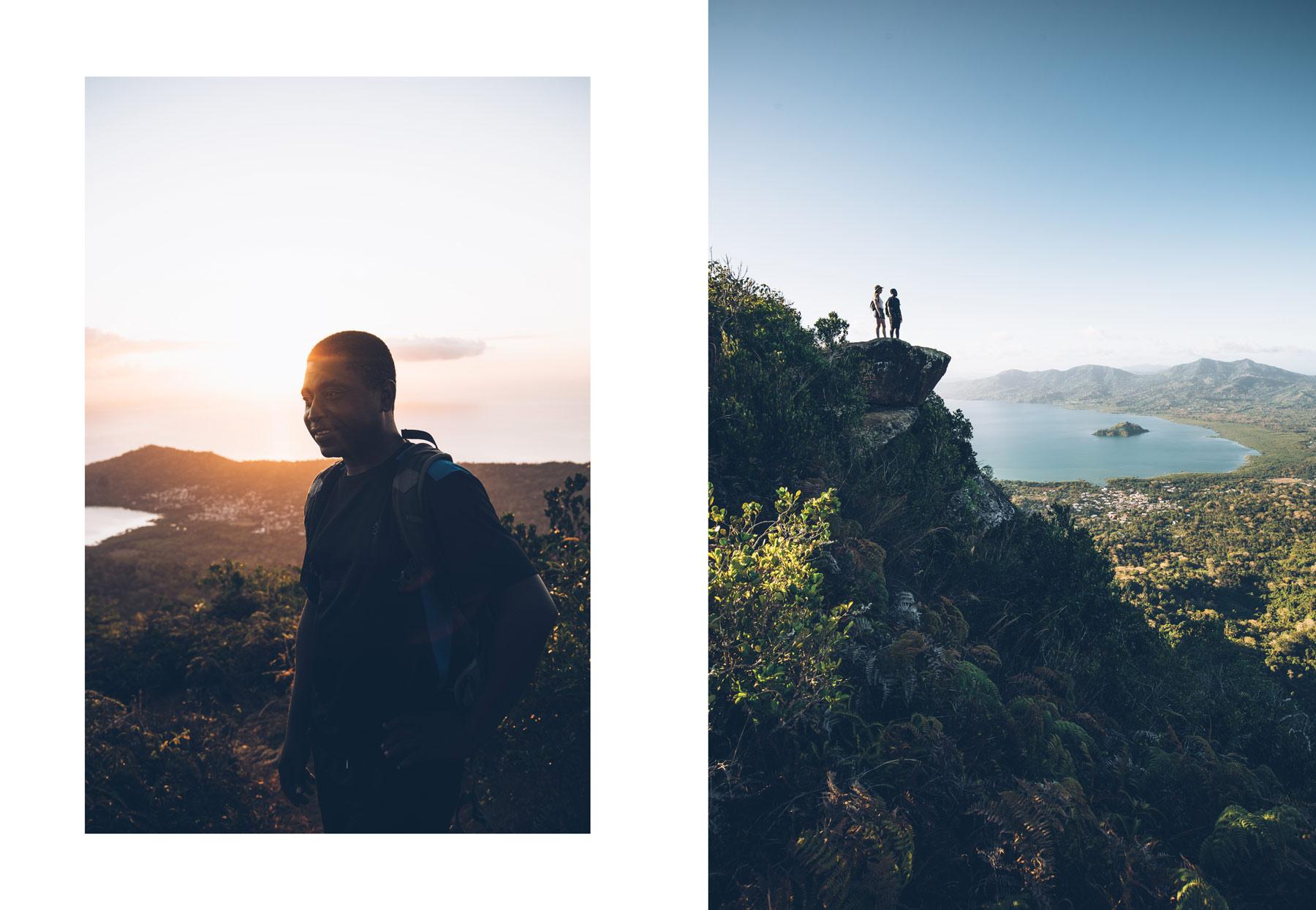 Le Mont Choungui avec un guide