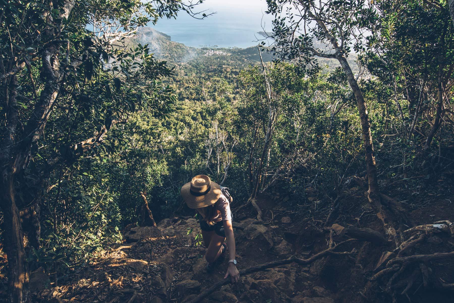 Mont Choungui, randonnée