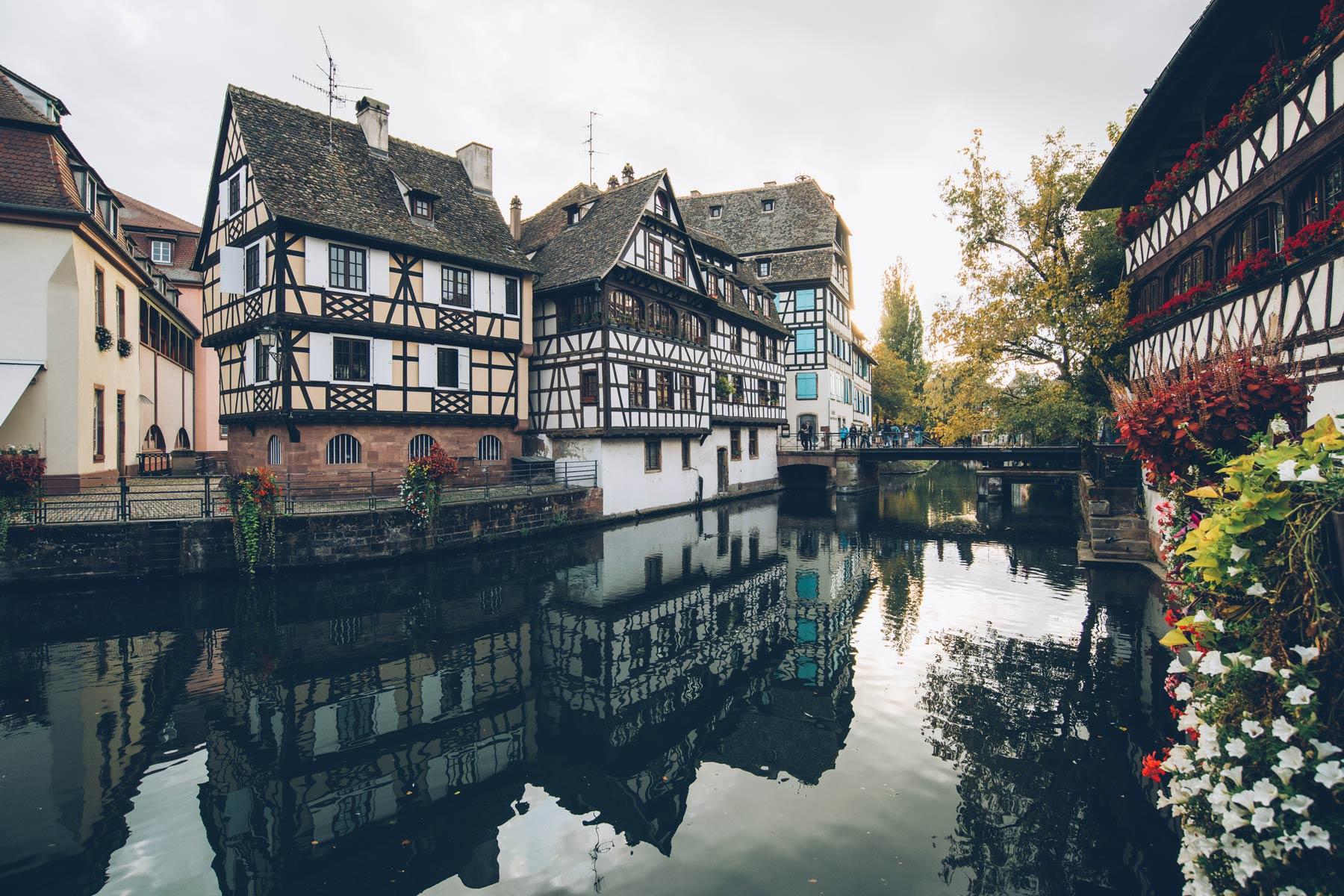 Petite France, Strasbourg, Maisons à colombages