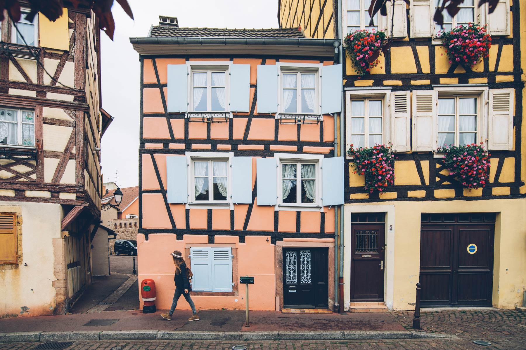 Colmar, petites maisons