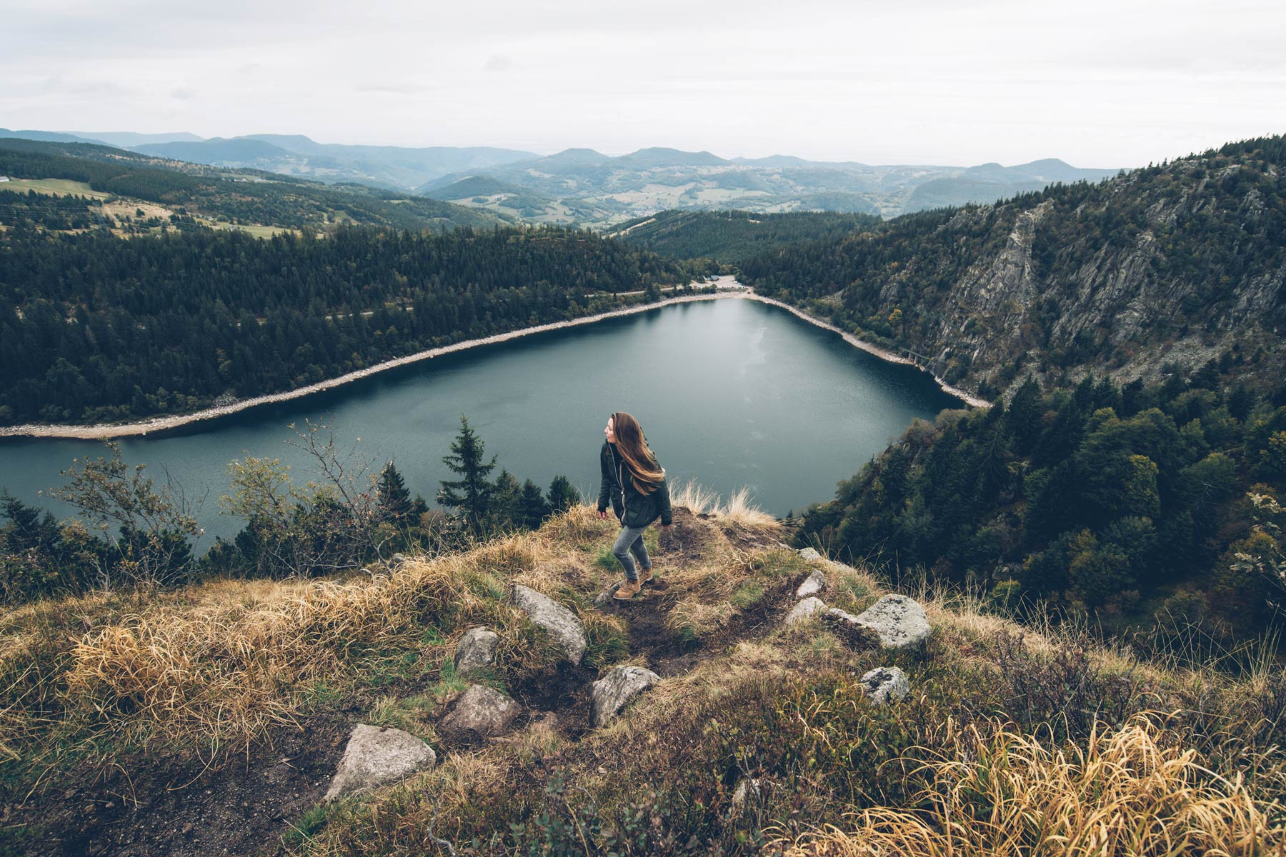Lac Blanc, Orbey