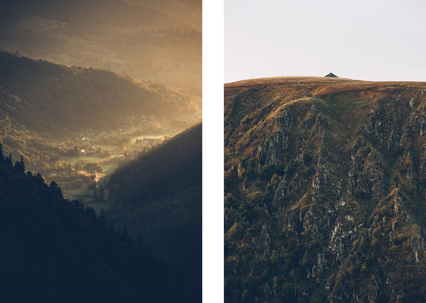 Routes des crêtes, Alsace, Hohneck