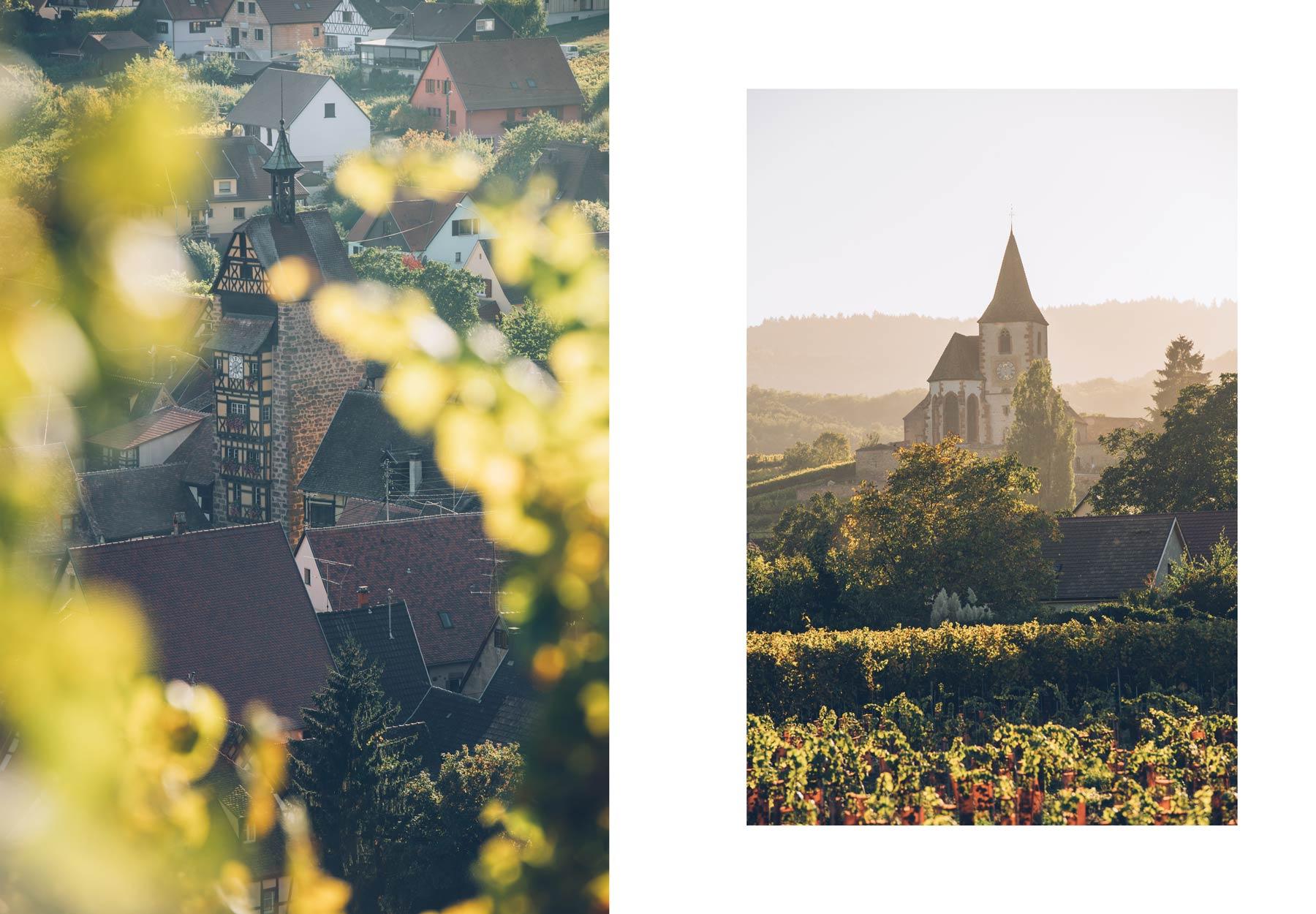 Villages Alsaciens sur la route des vins