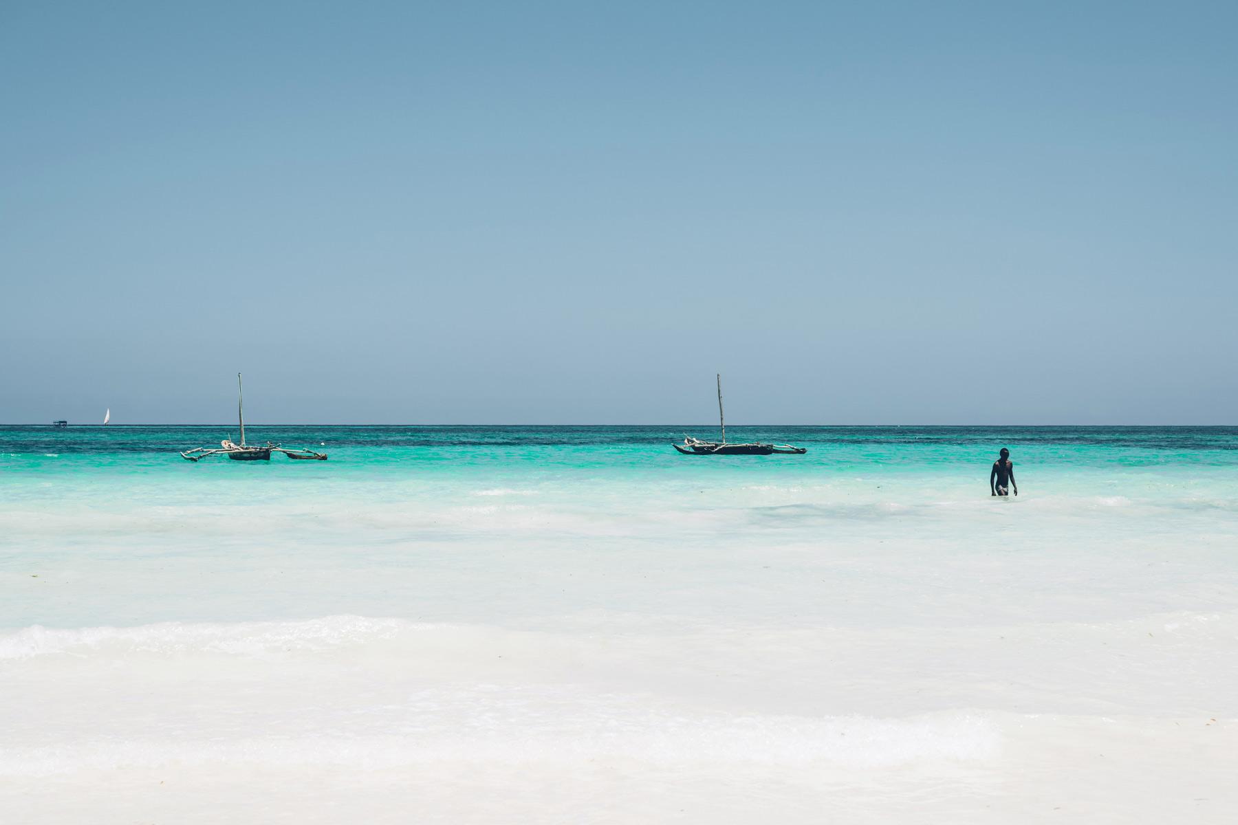 Plage de Sable Blanc au Kenya: Diani Beach