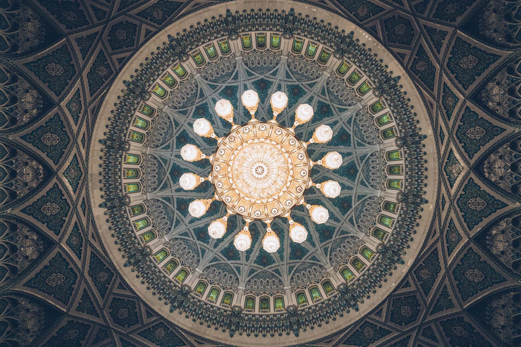Lustre, Grande Mosquee, Mascate