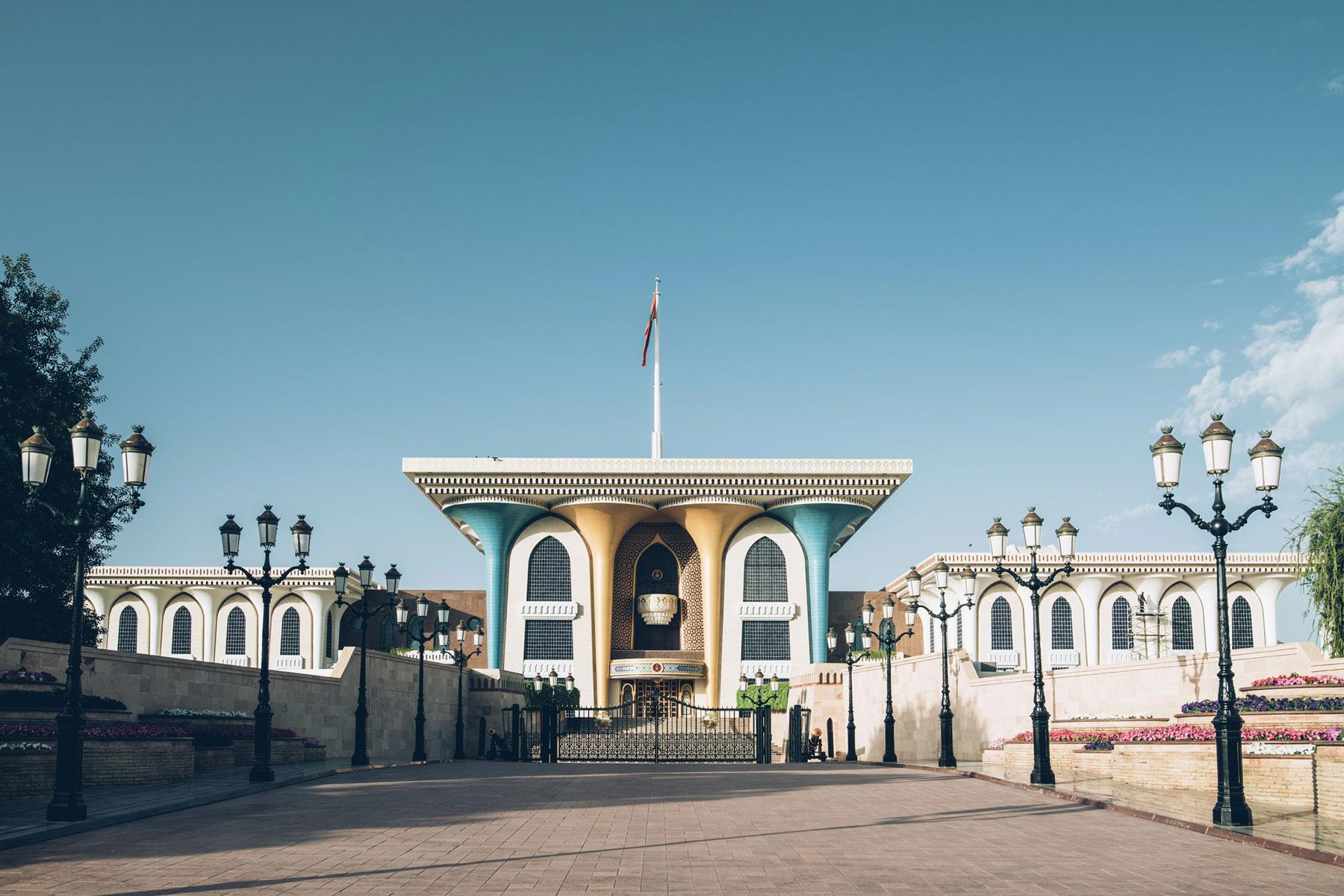 Palais du Sultant, Oman