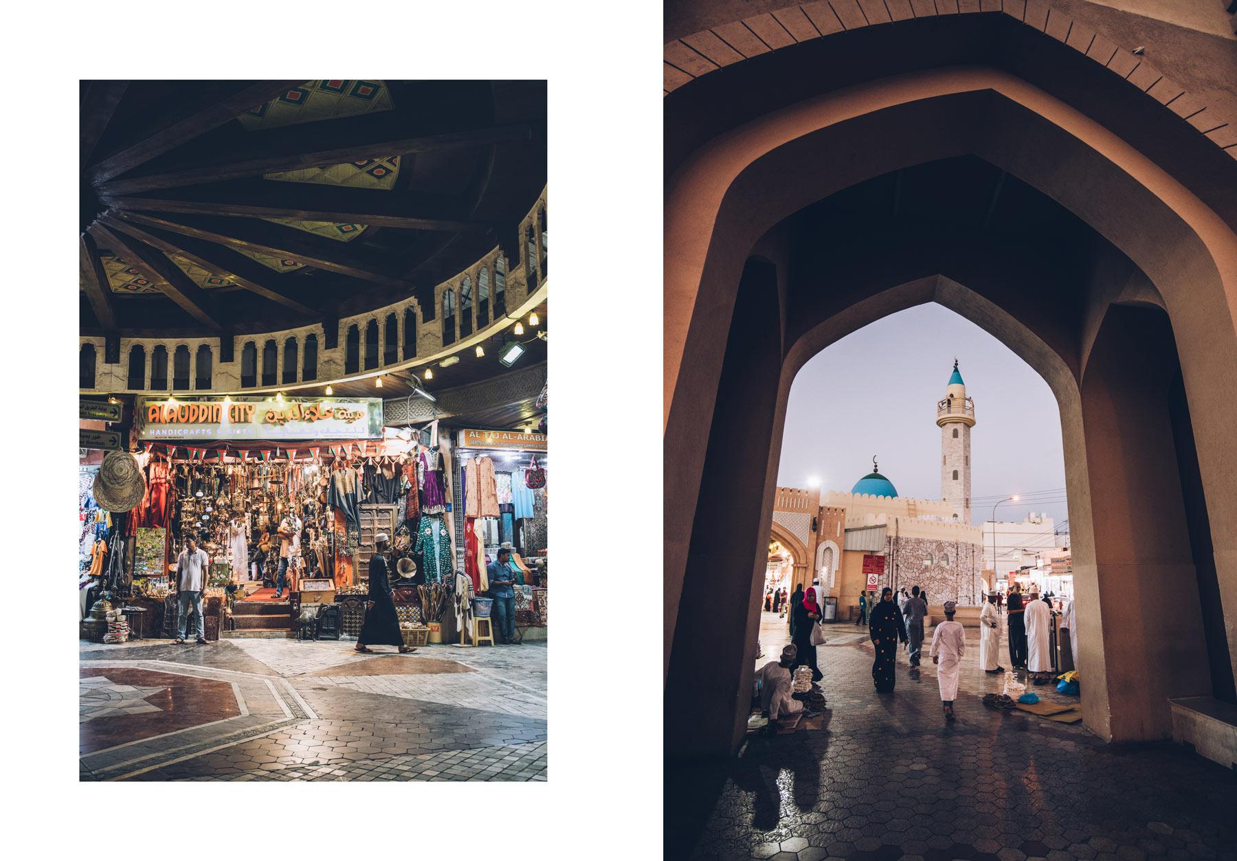 Le Souk de Mascate, Oman
