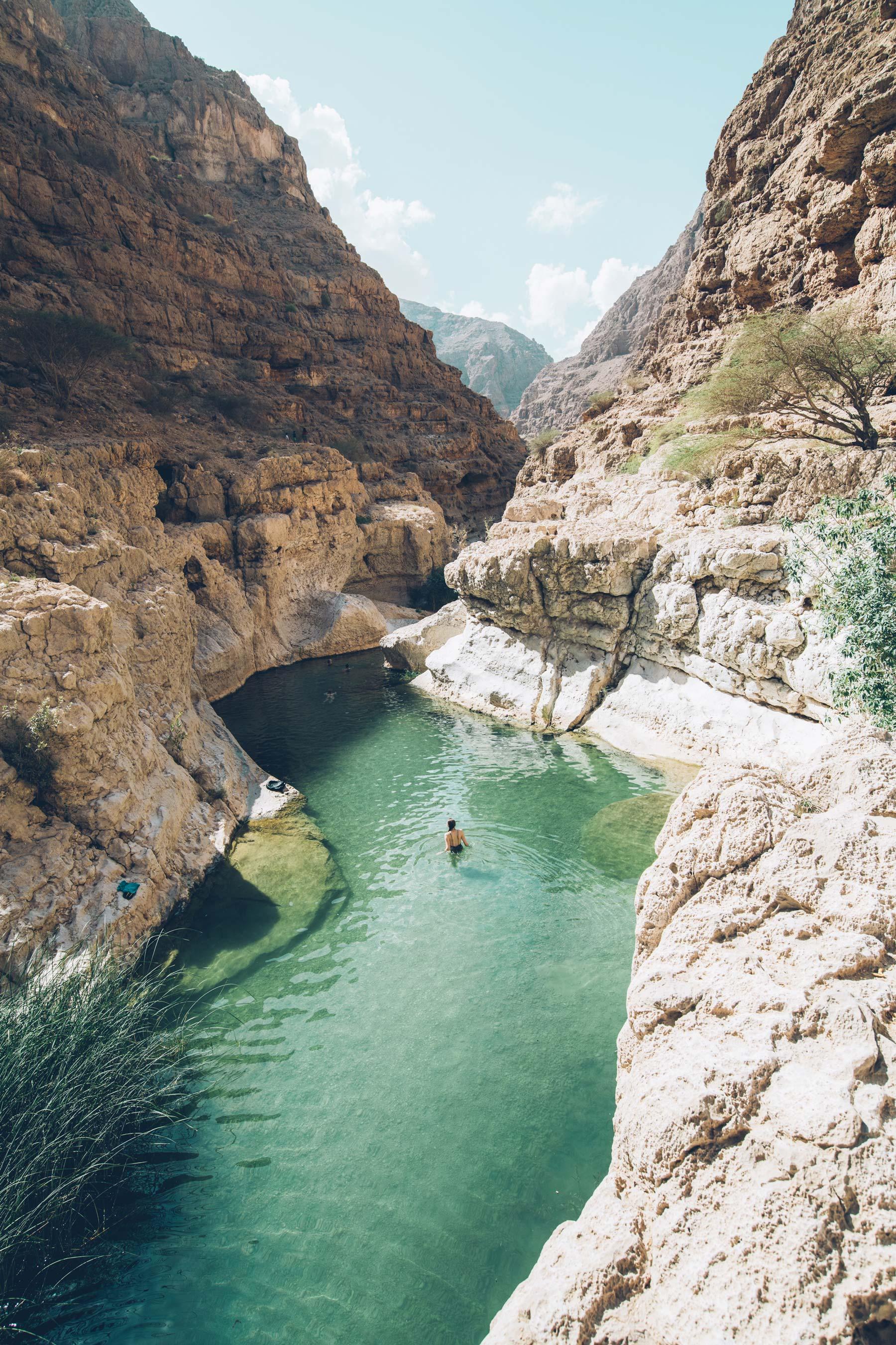 Wadi Shab, Oman, Blog Voyage