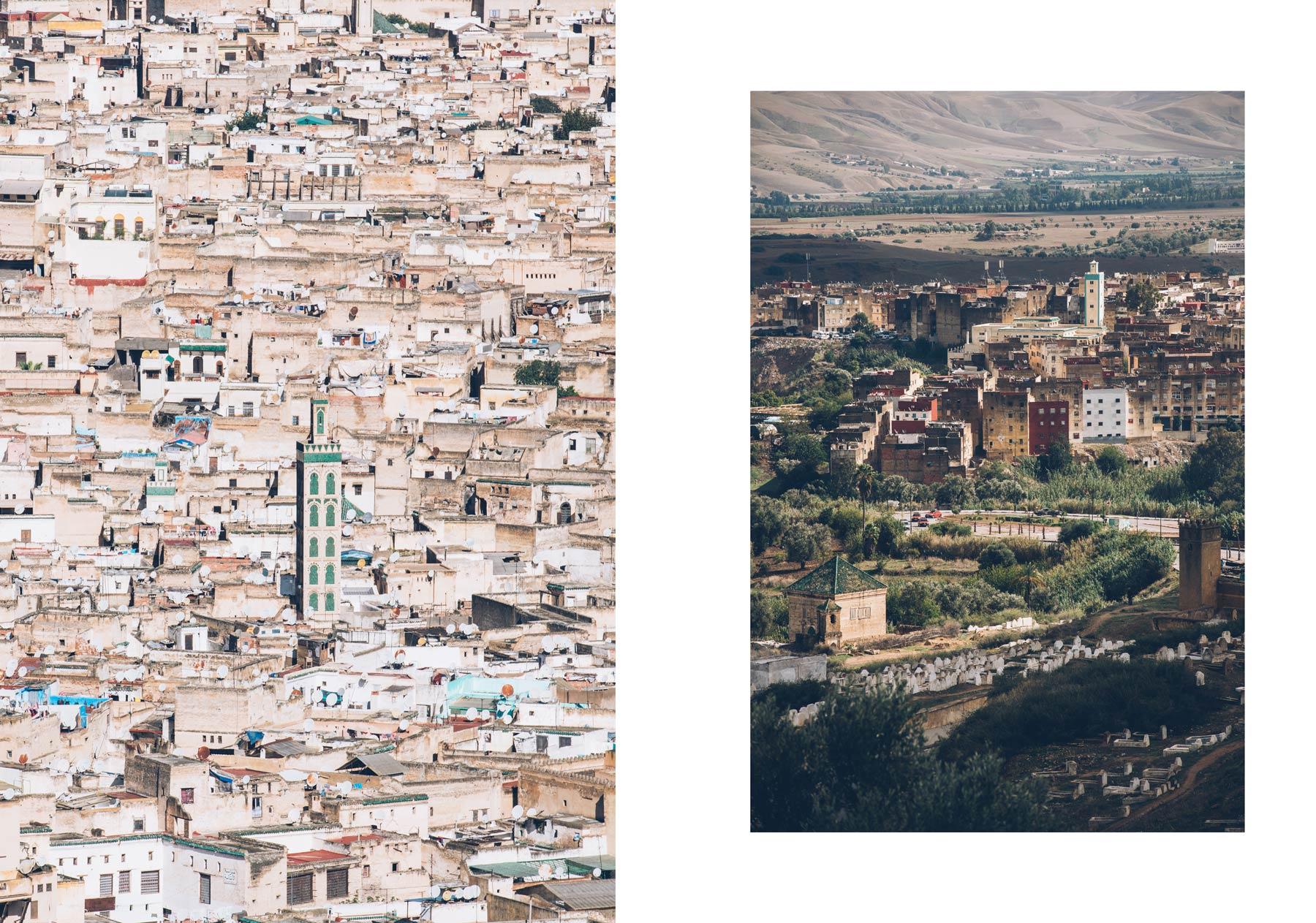 Borj Sud et Nord, Fès, Maroc