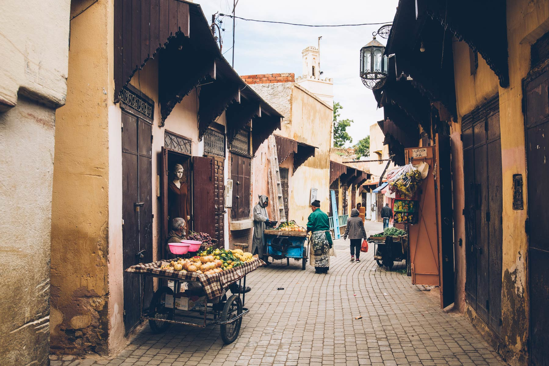 Ville impériale, Meknès, Maroc