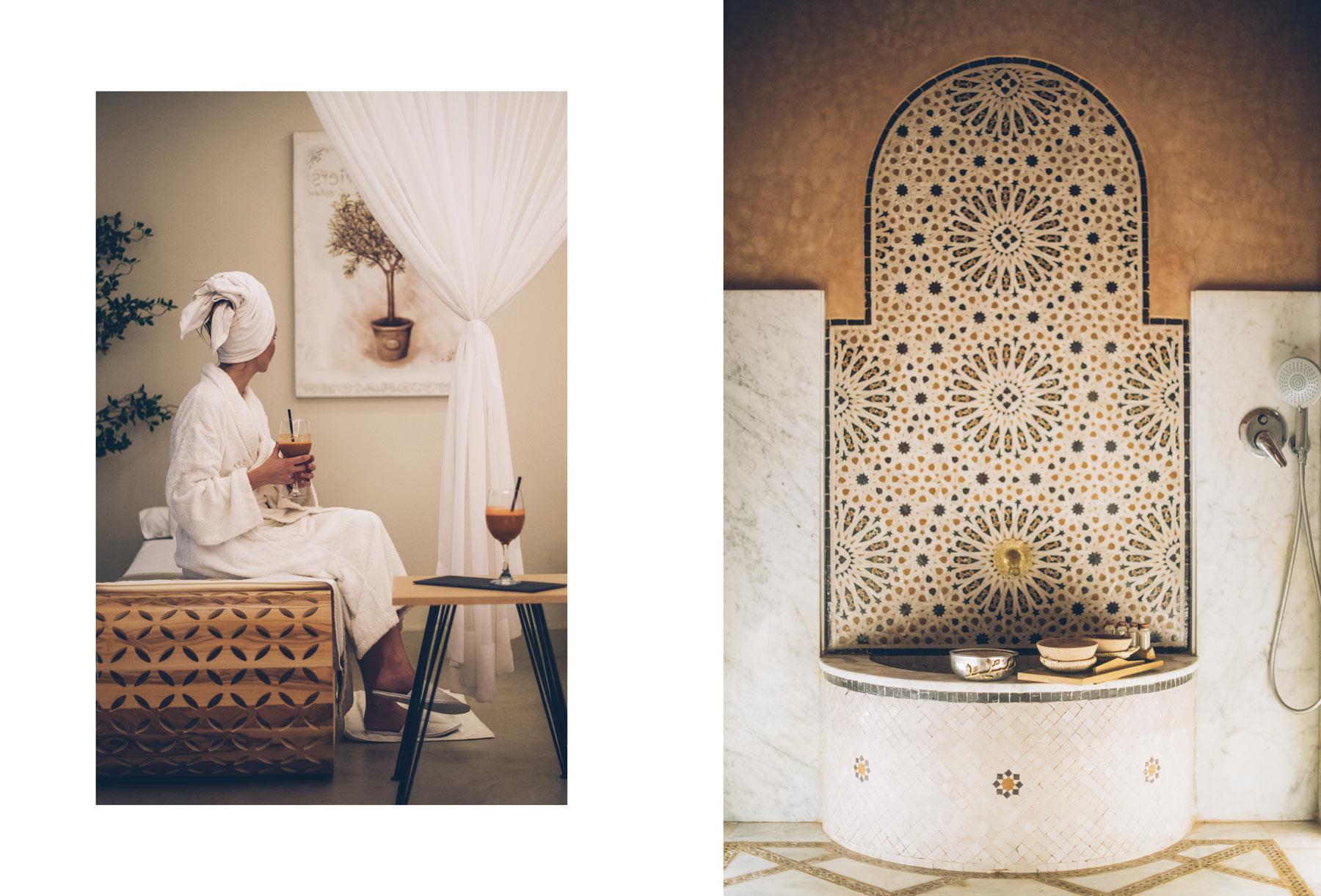 Spa du chateau Roslane, Maroc