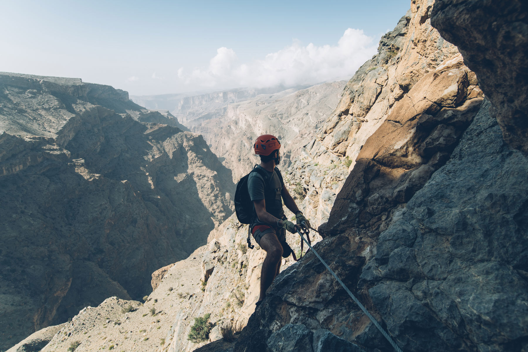 Via Ferrata Alila Jabal Akhdar, Oman