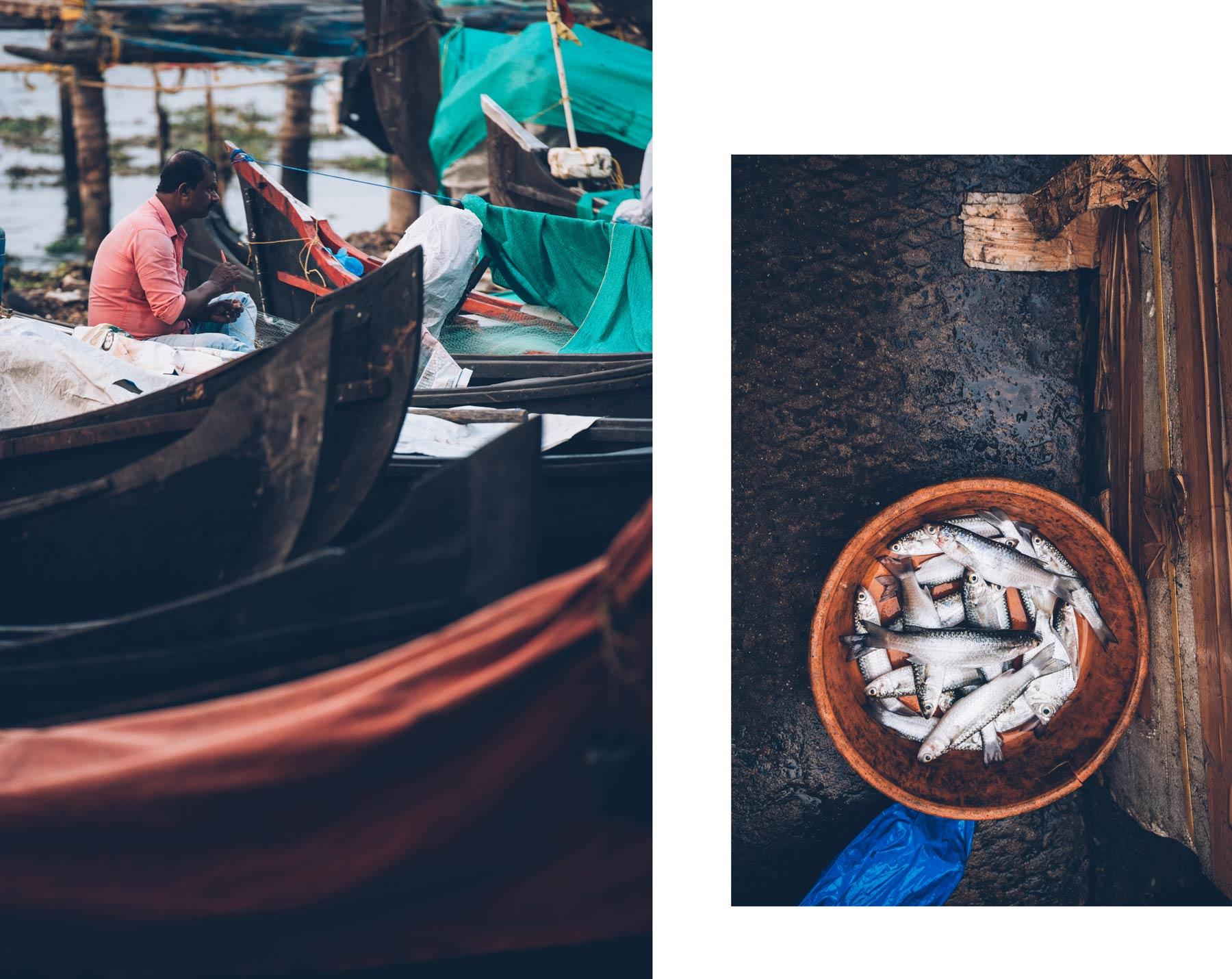 La criée, Cochin