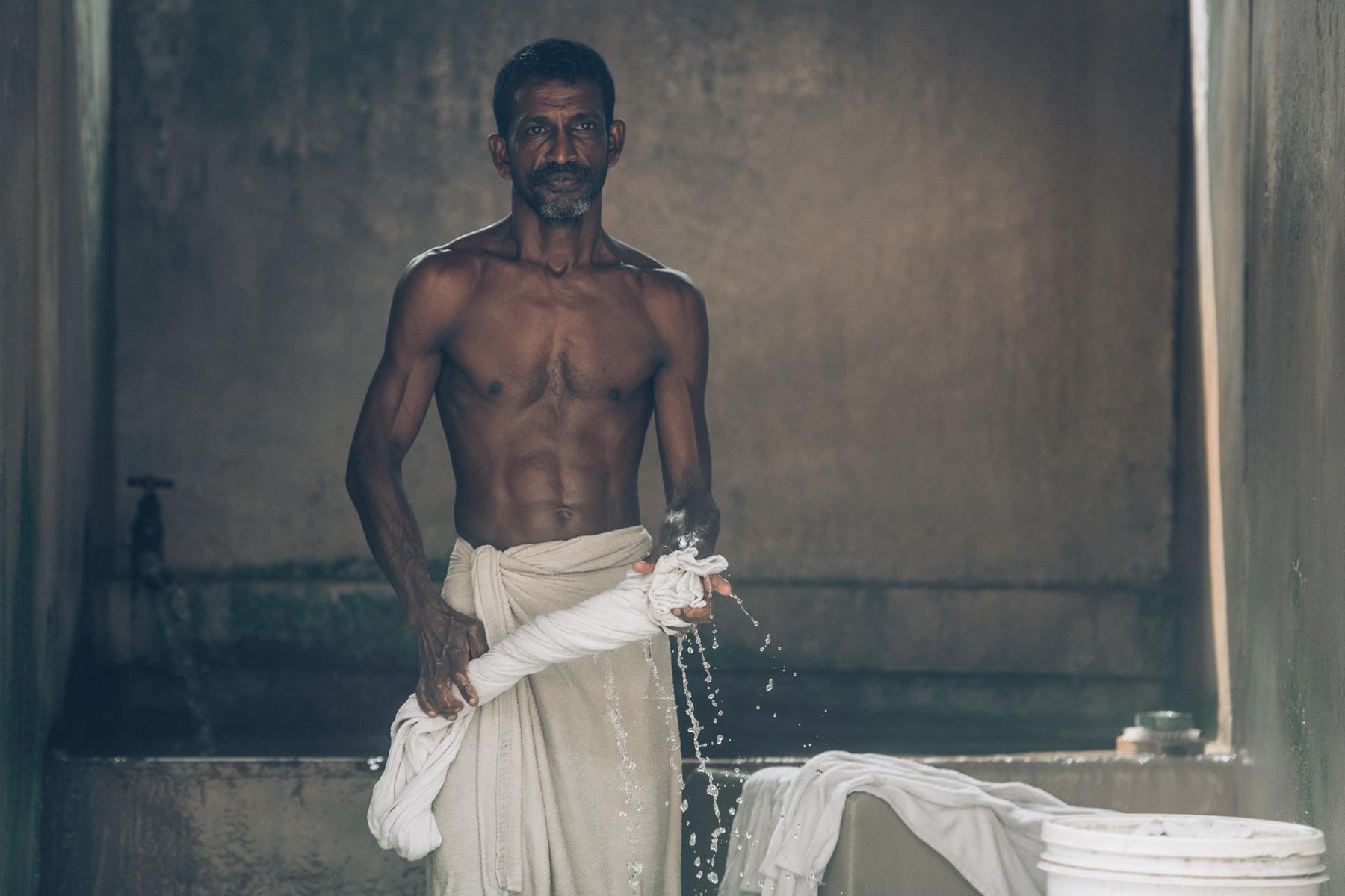 Laverie, Inde