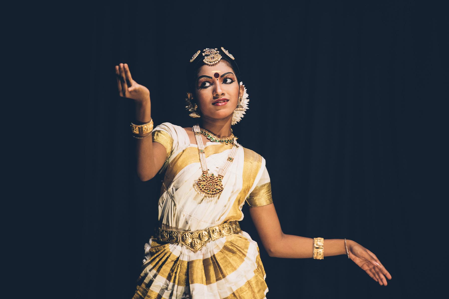 Spectacle de Kathakali, Cochin, Kerala