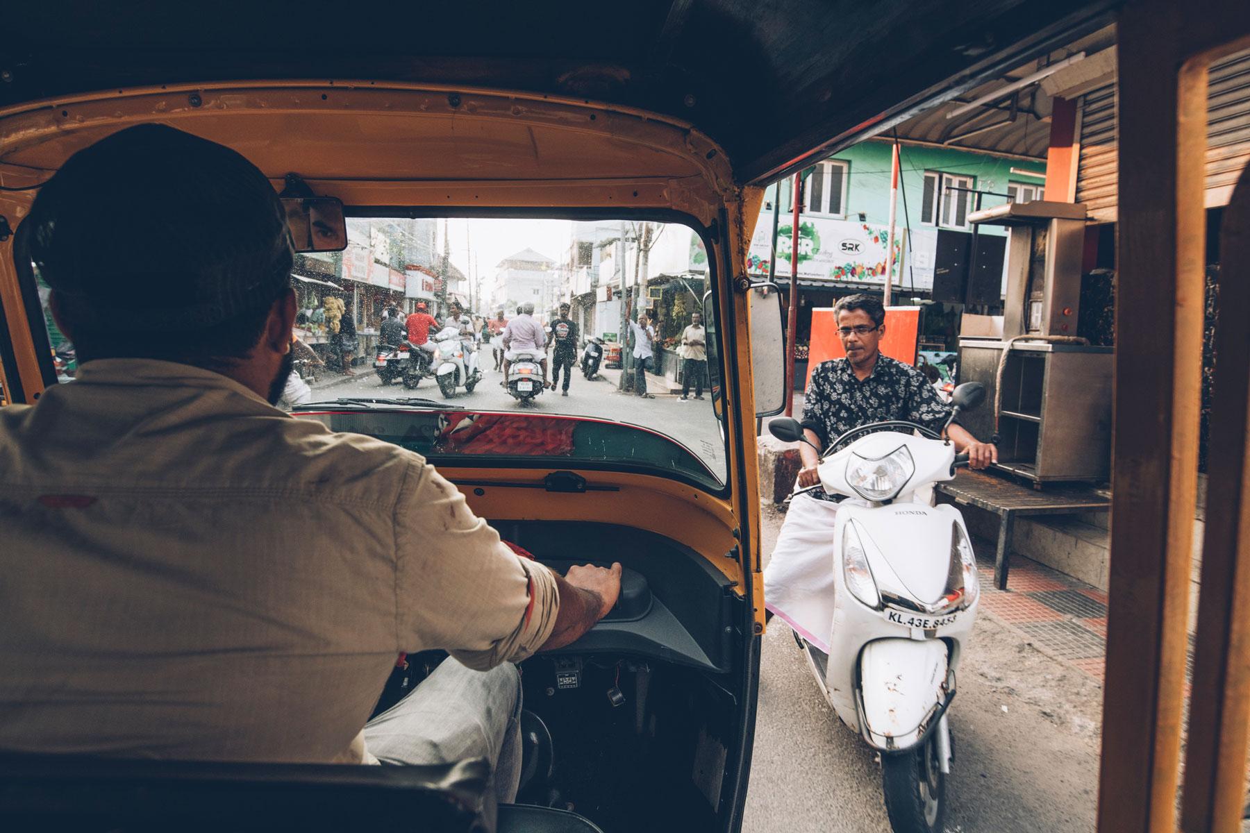 Tuktuk, Inde Kerala