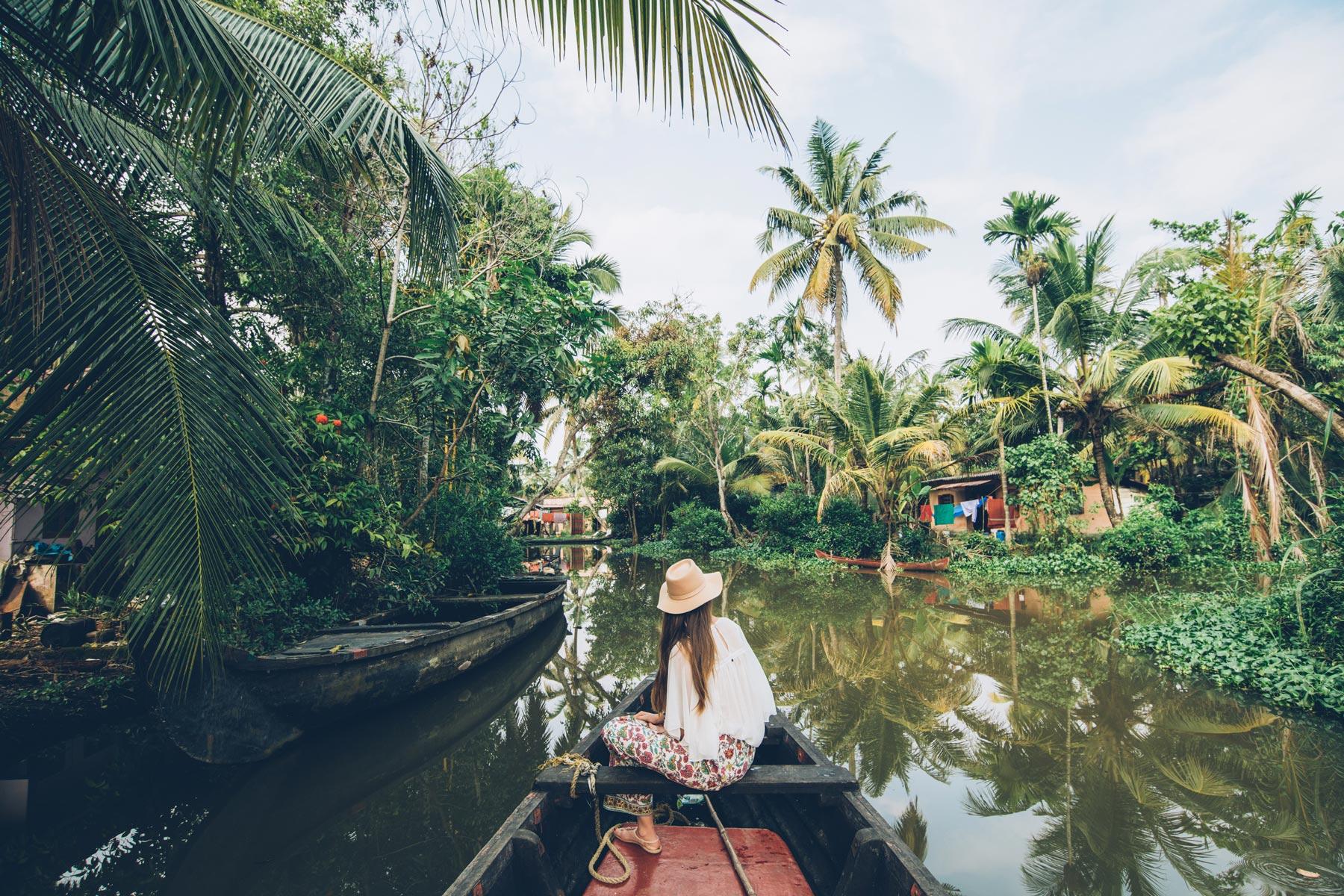 Les Backwaters insolite, Kerala