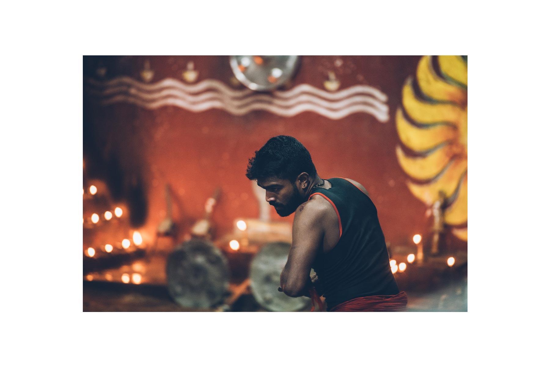 spectacle de Kalaripayattu, Kerala