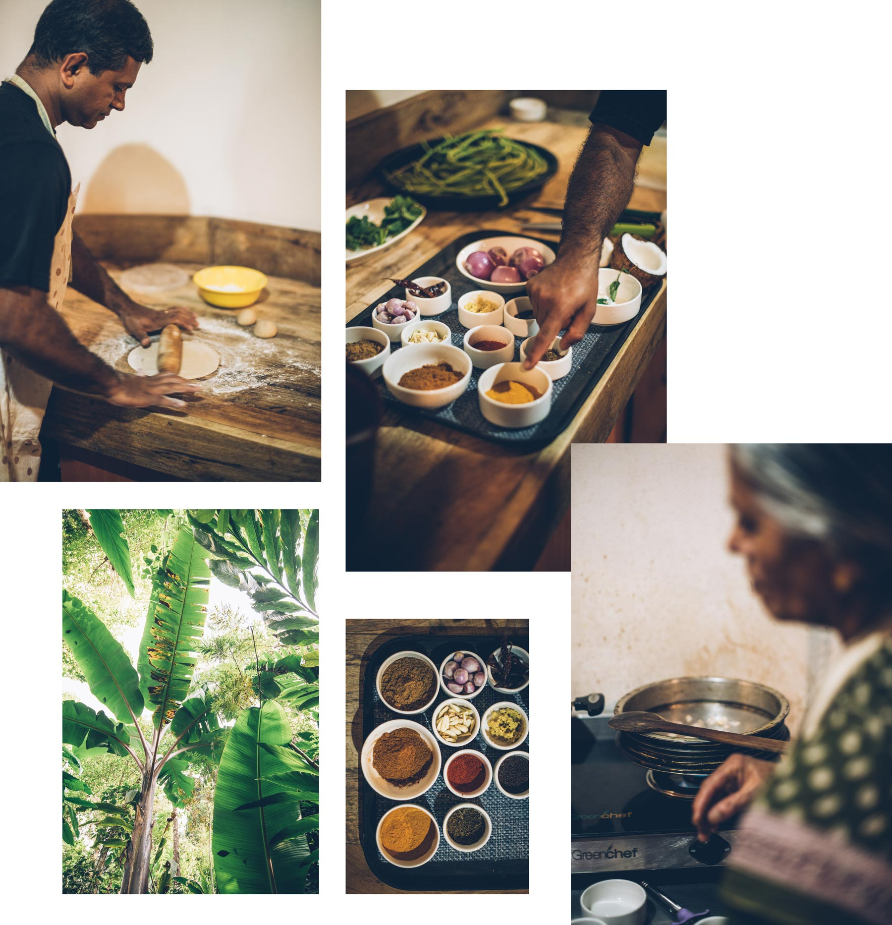 Cours de cuisine à Munnar, Kerala
